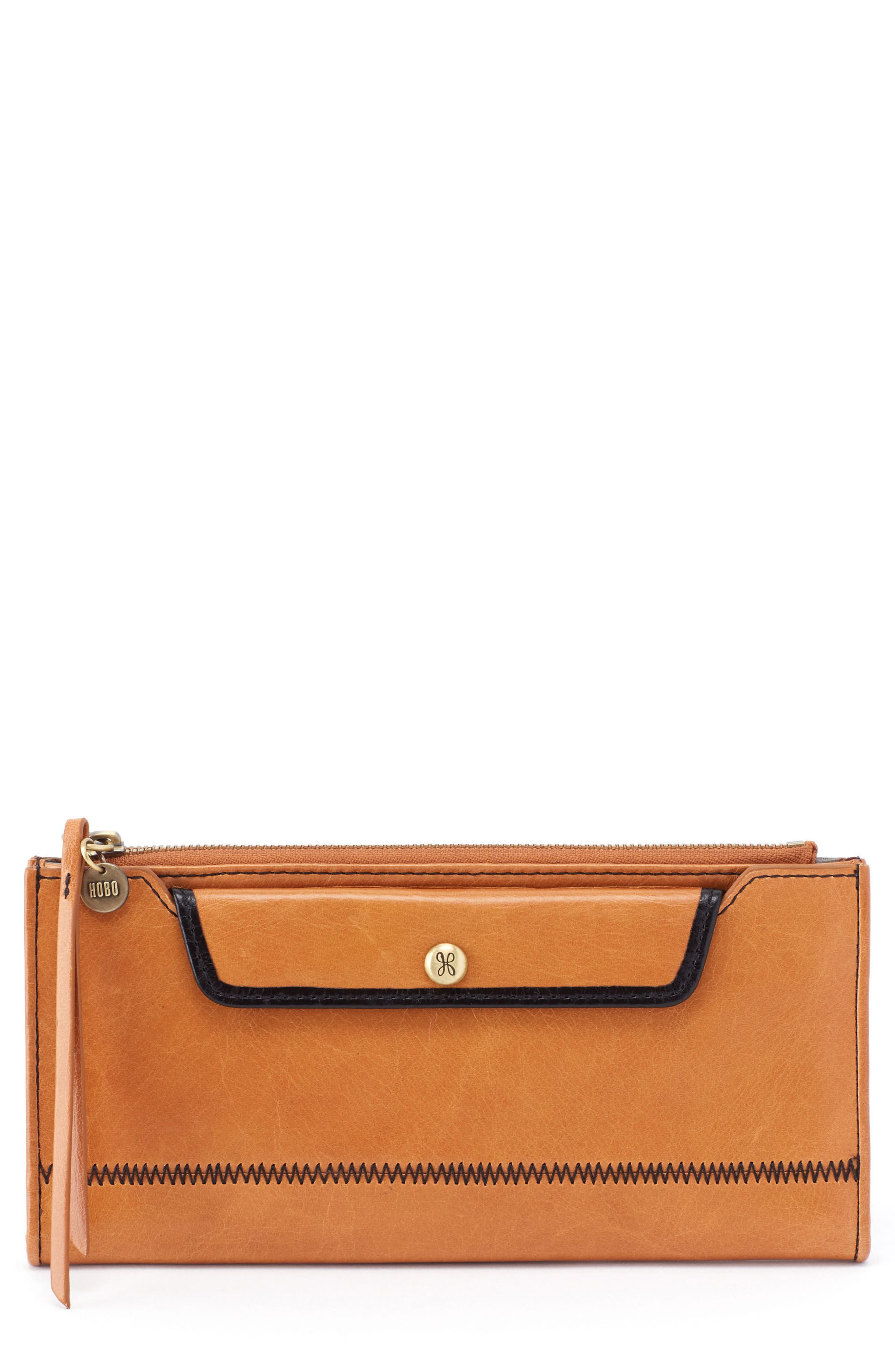 Hobo Orbit Continental Leather Wallet