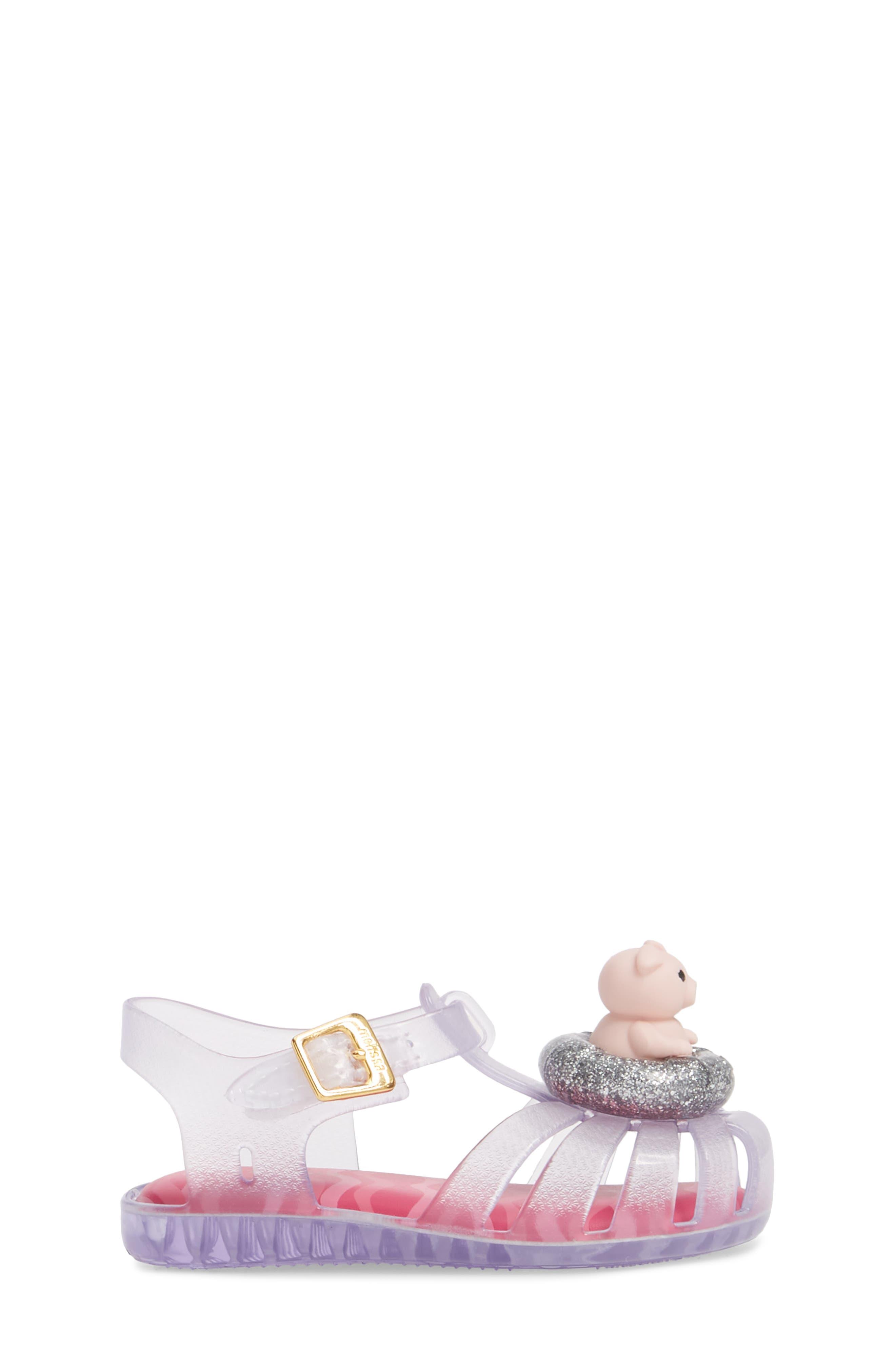 Alternate Image 3  - Mini Melissa Aranha XI Jelly Sandal (Walker & Toddler)