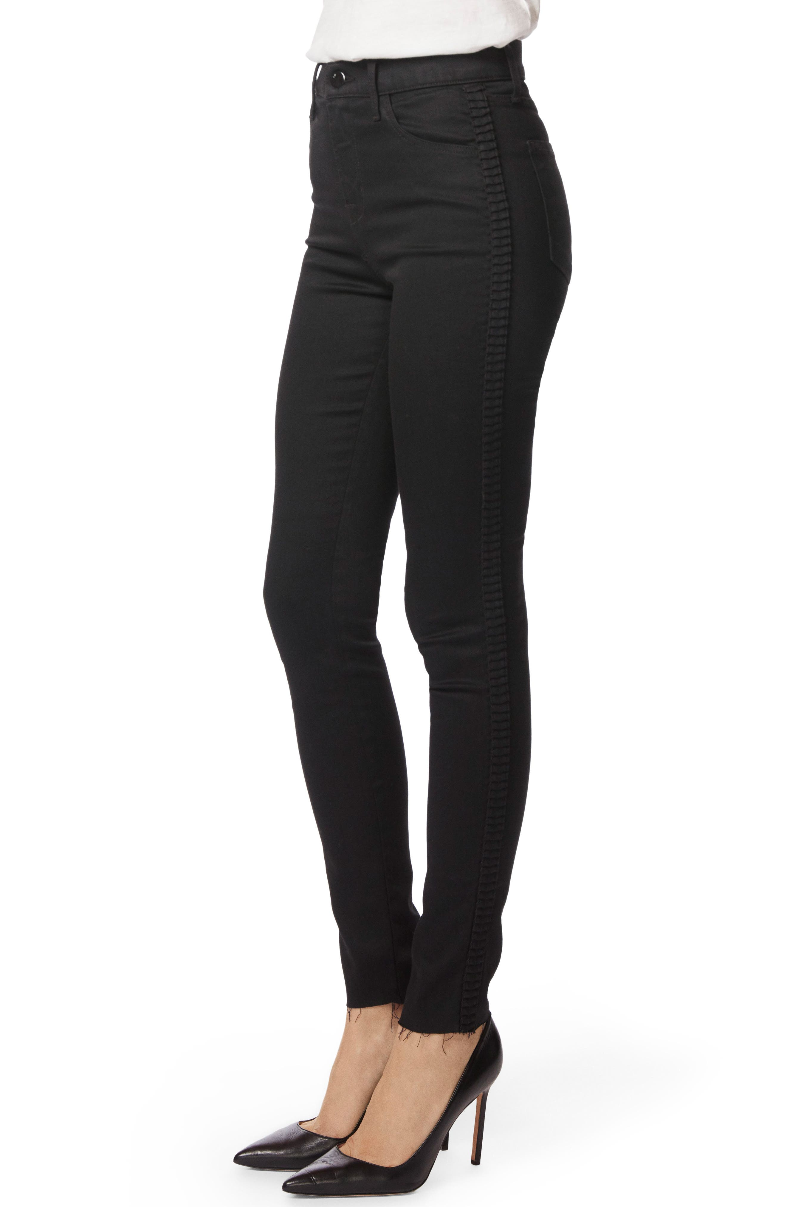 Maria High Waist Skinny Jeans,                             Alternate thumbnail 4, color,                             Highway