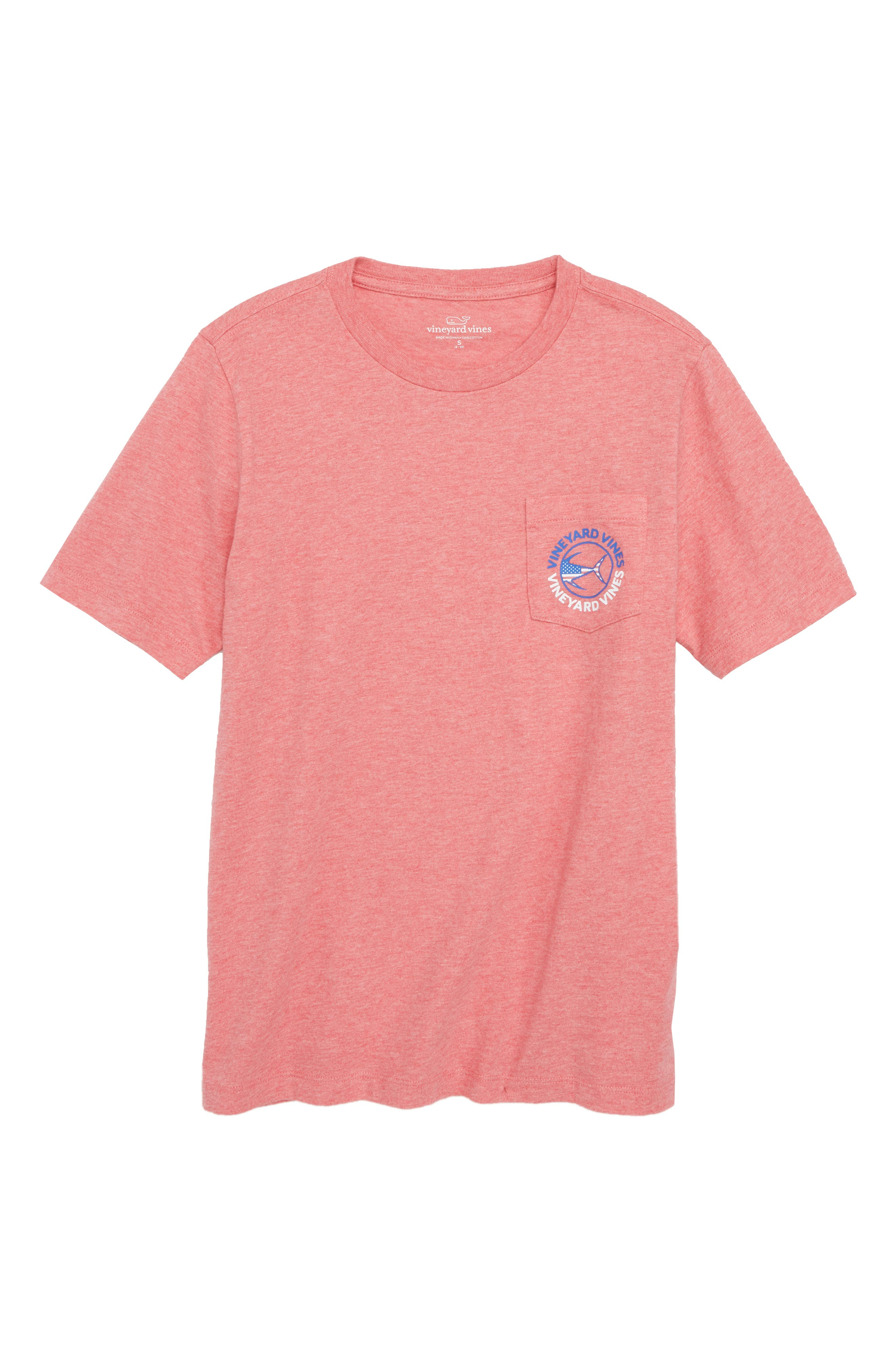 Tuna Graphic T-Shirt,                             Main thumbnail 1, color,                             Jetty Red