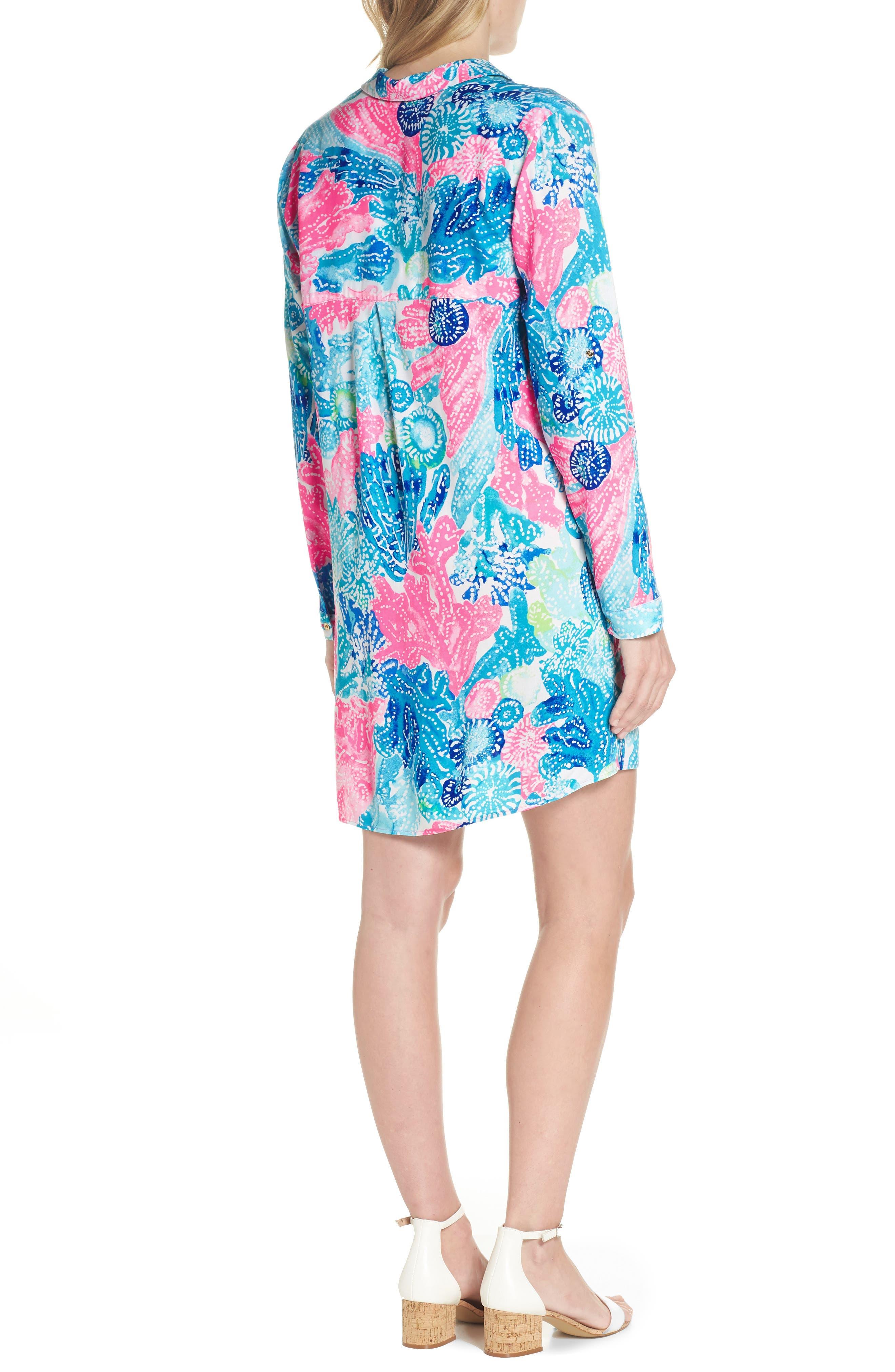 Lillith Shirtdress,                             Alternate thumbnail 2, color,                             Multi Boho Batik