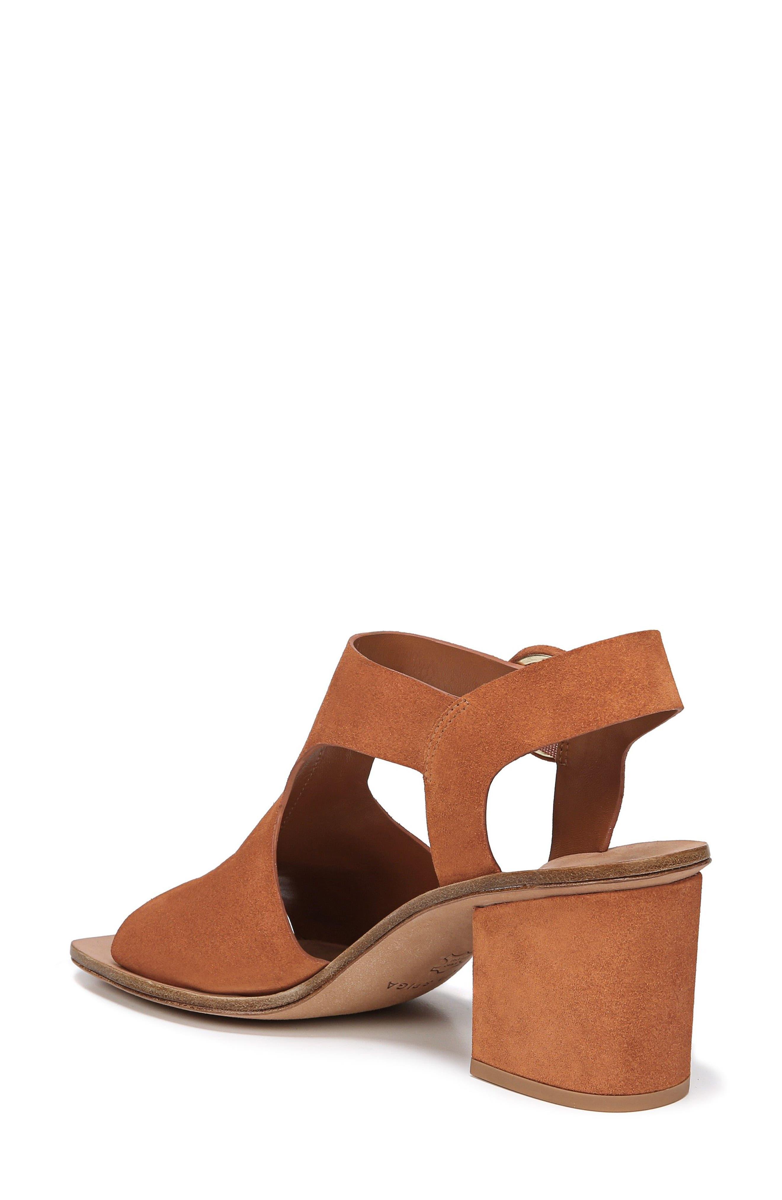 Katya Shield Sandal,                             Alternate thumbnail 2, color,                             Amber Suede