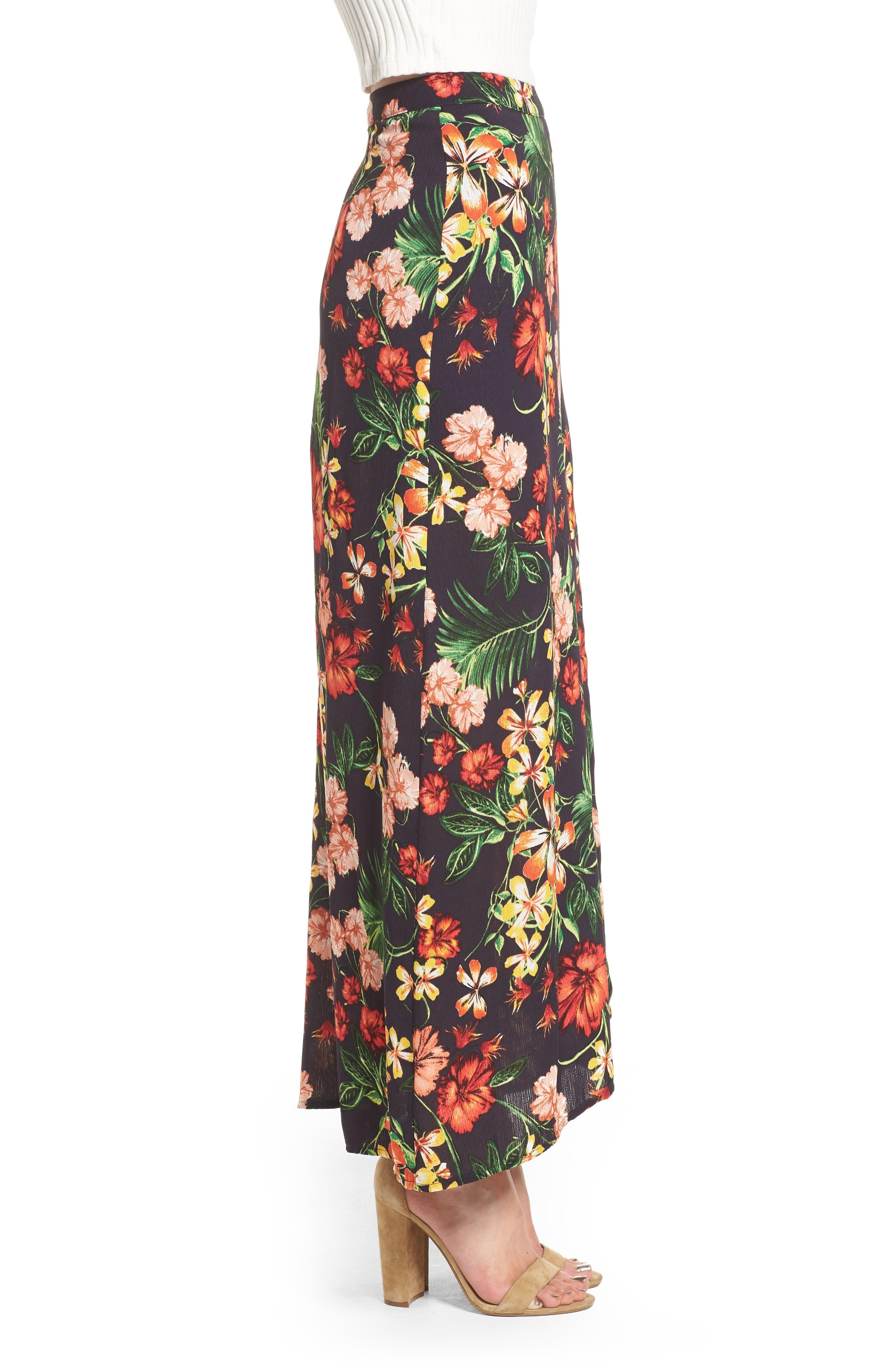 Alternate Image 4  - Floral Maxi Skirt