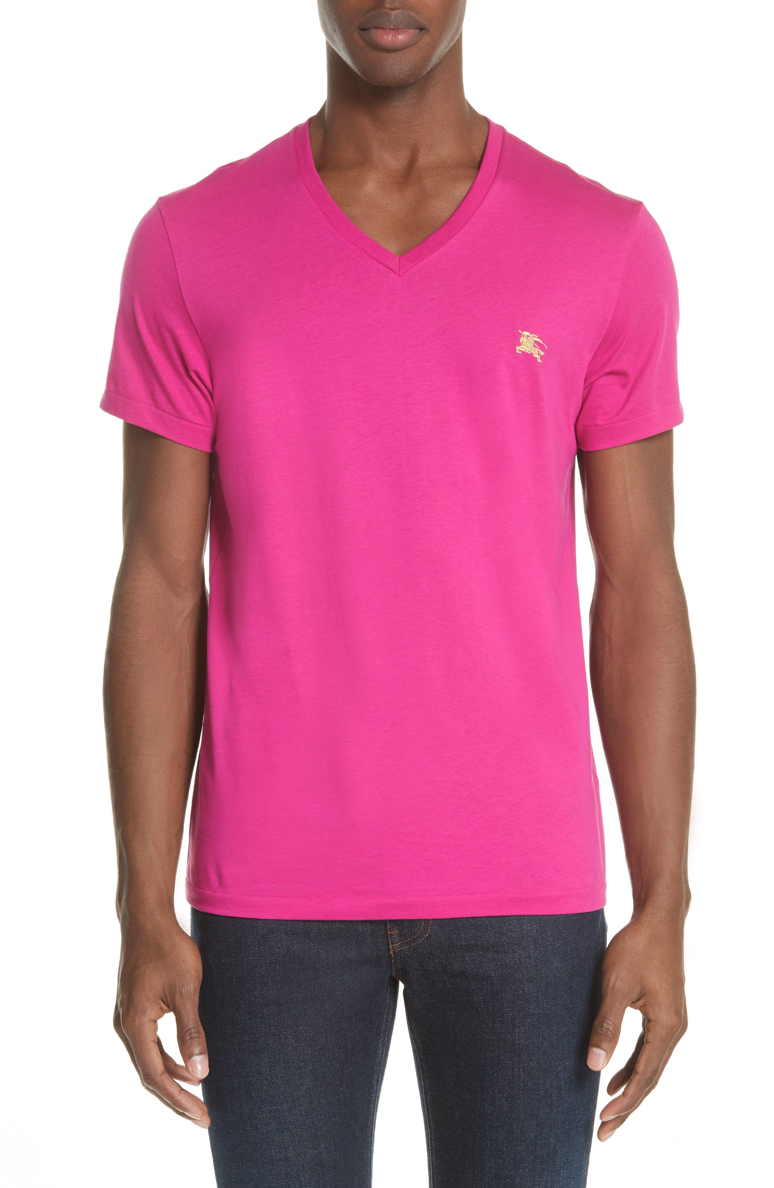 Burberry Jadford V-Neck T-Shirt