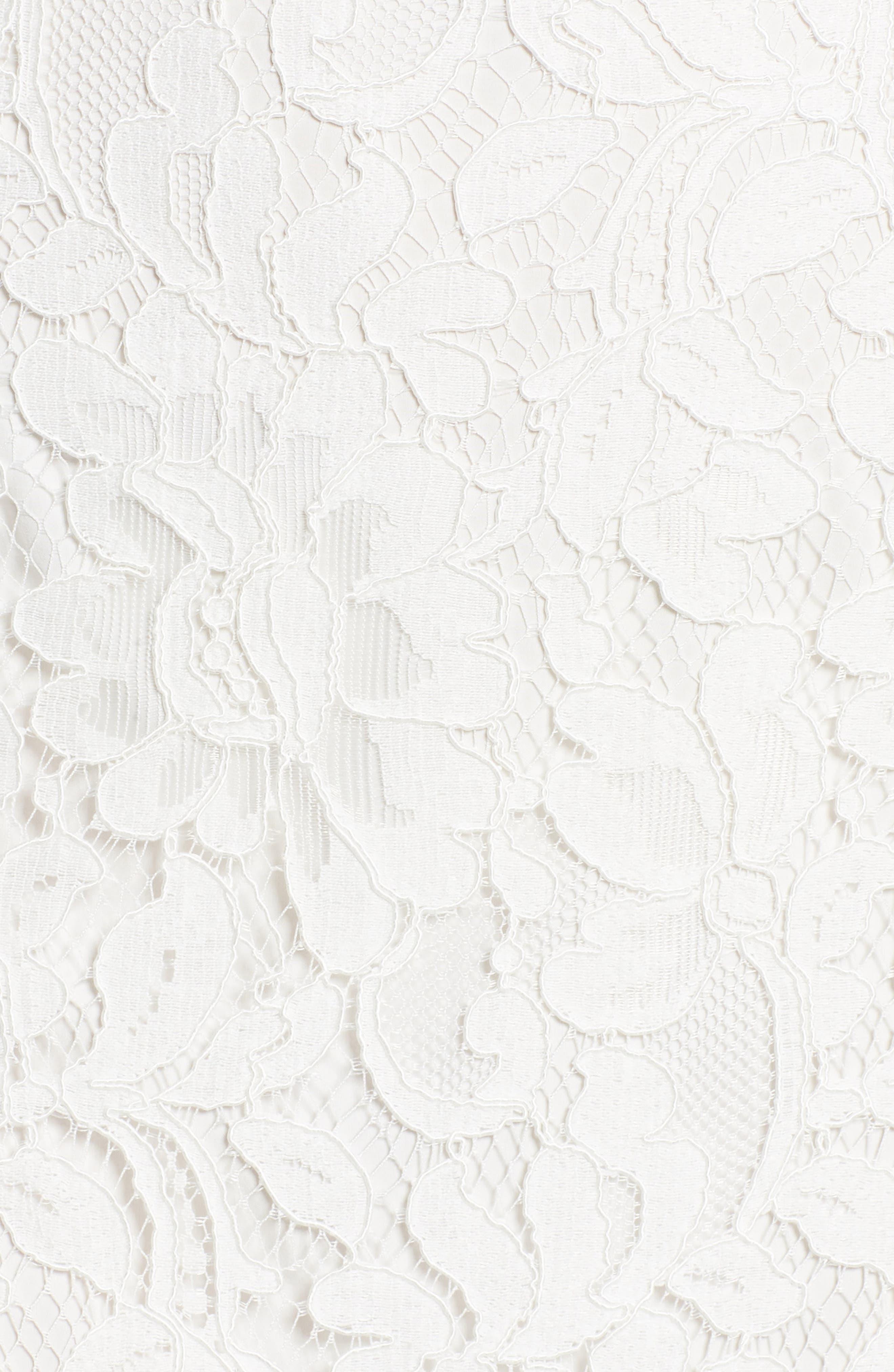 Tasha Off the Shoulder Halter Maxi Dress,                             Alternate thumbnail 5, color,                             Ivory