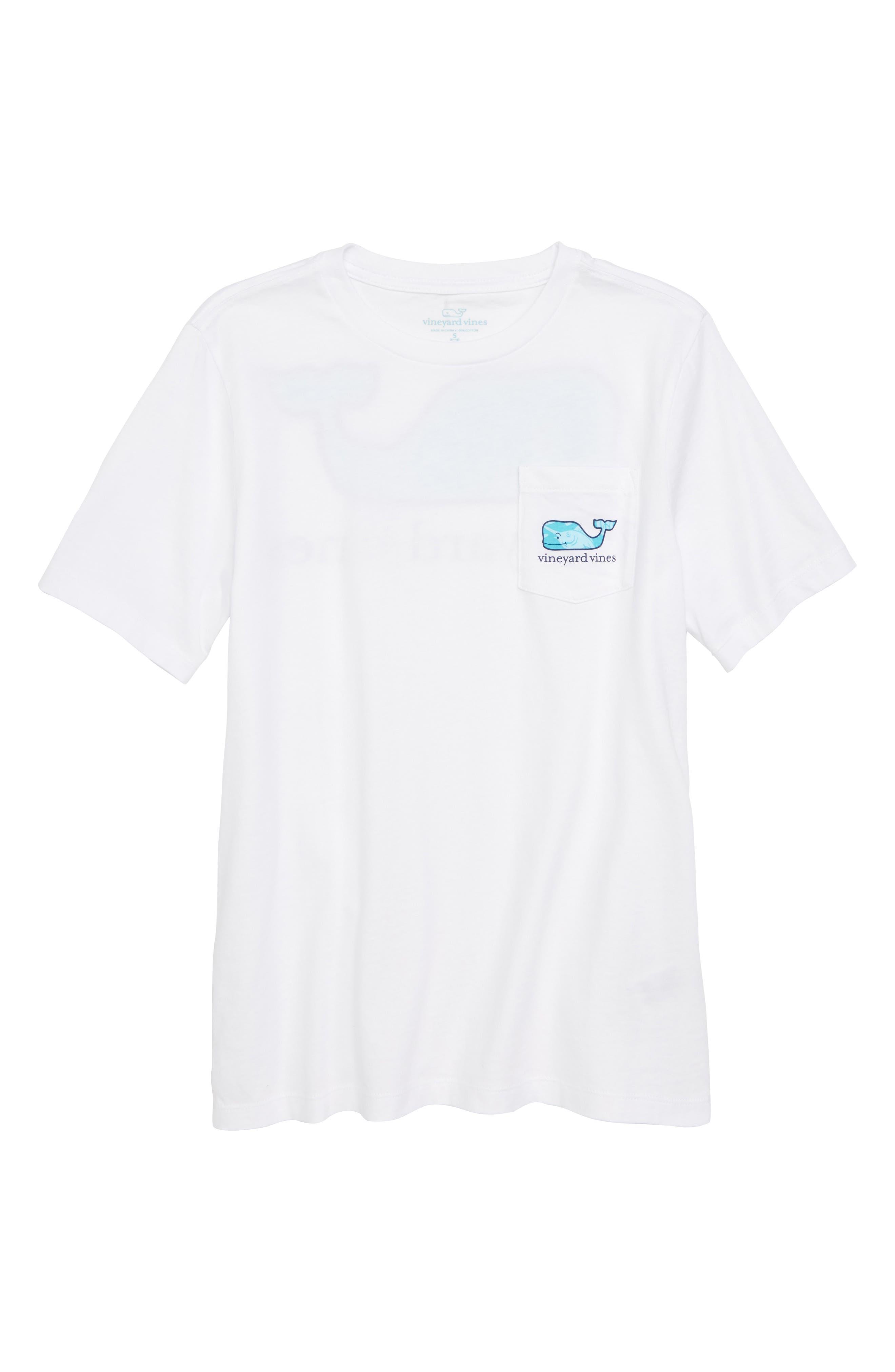Marlin Whale Graphic T-Shirt,                             Main thumbnail 1, color,                             White Cap
