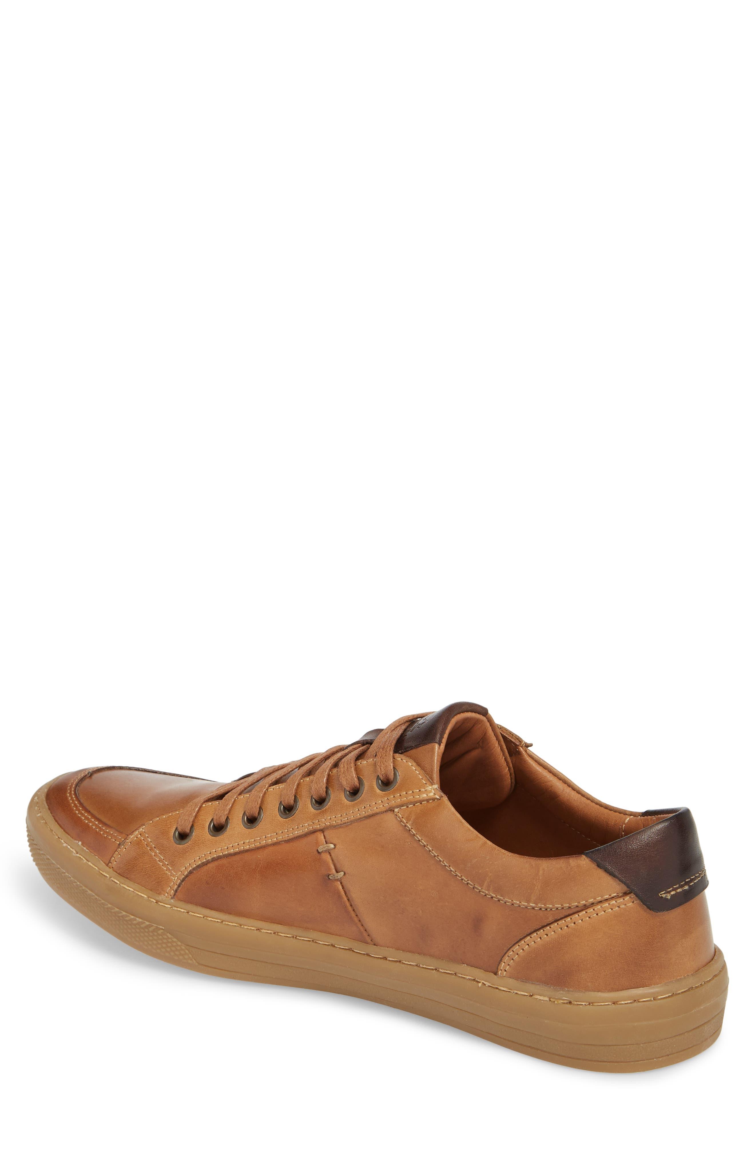 Bilac Low Top Sneaker,                             Alternate thumbnail 2, color,                             Touch Bronze/ Castanho Leather