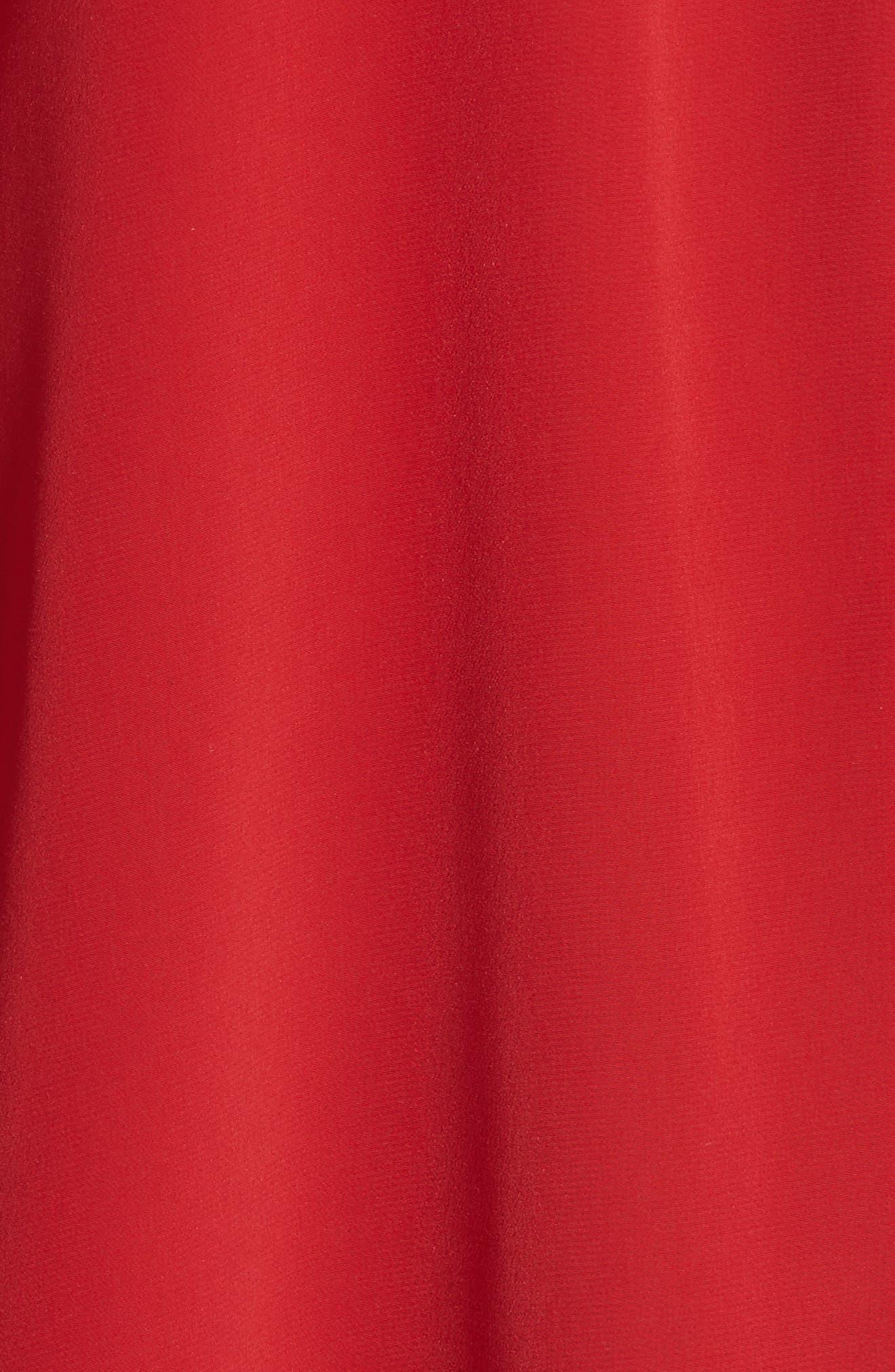 Kimono Sleeve Blouse,                             Alternate thumbnail 6, color,                             Red