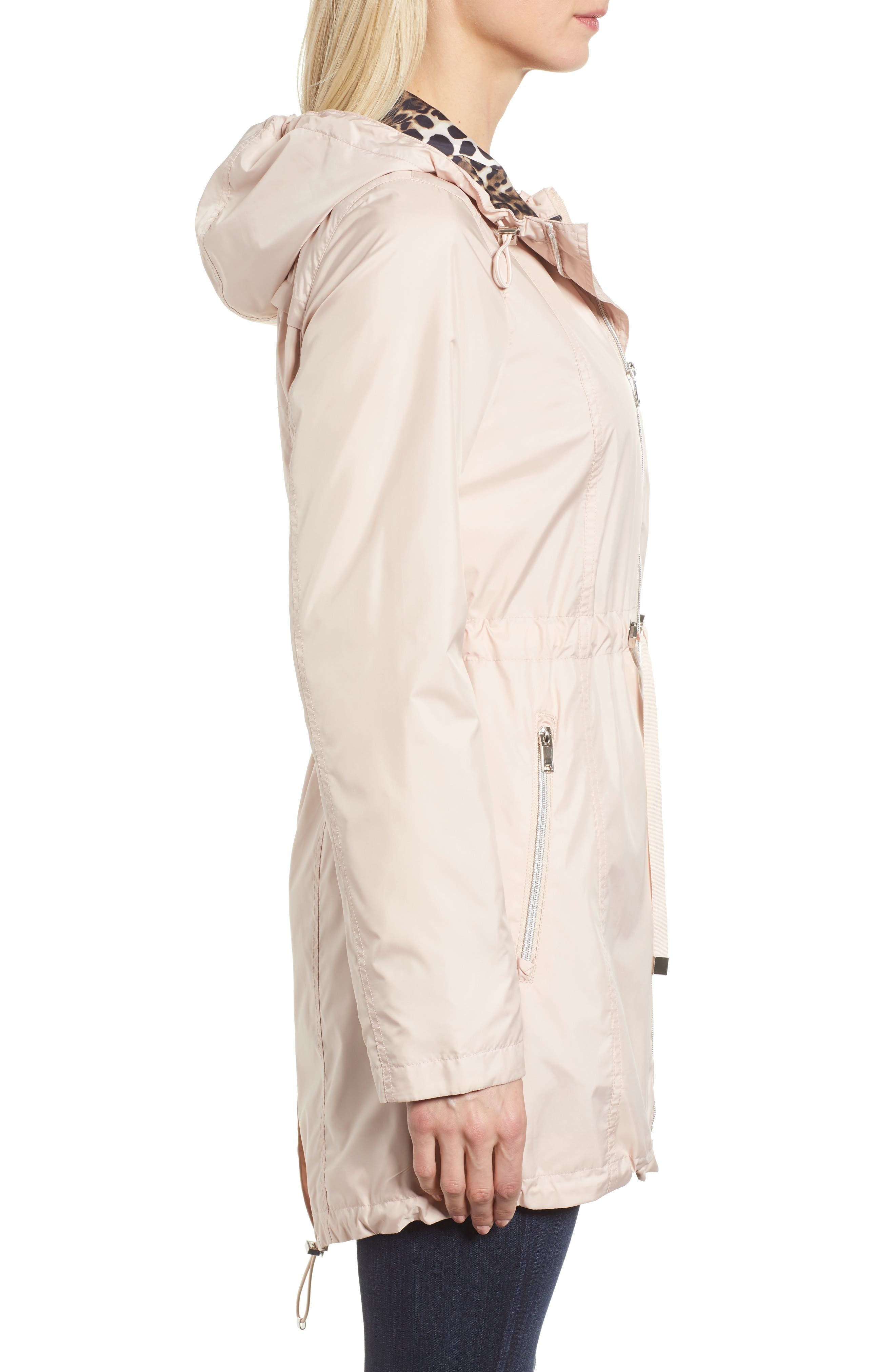 Packable Hooded Anorak,                             Alternate thumbnail 2, color,                             Rose Blush
