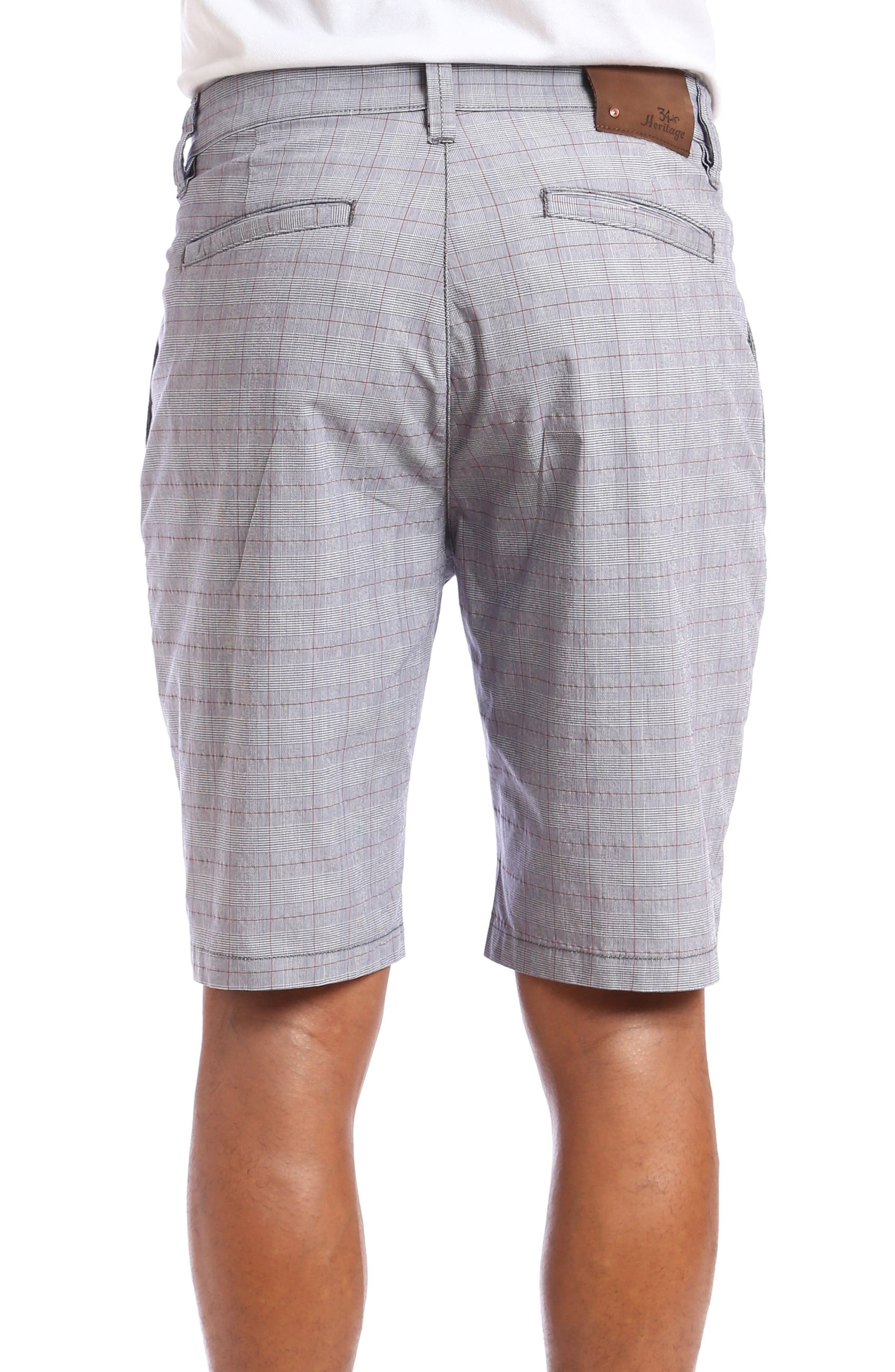 Nevada Twill Shorts,                             Alternate thumbnail 2, color,                             Grey Plaid