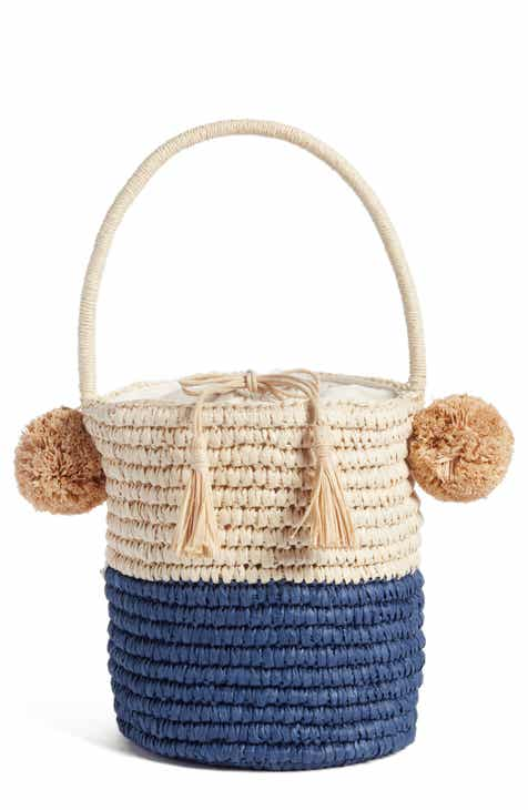 Nordstrom Straw Bucket Bag