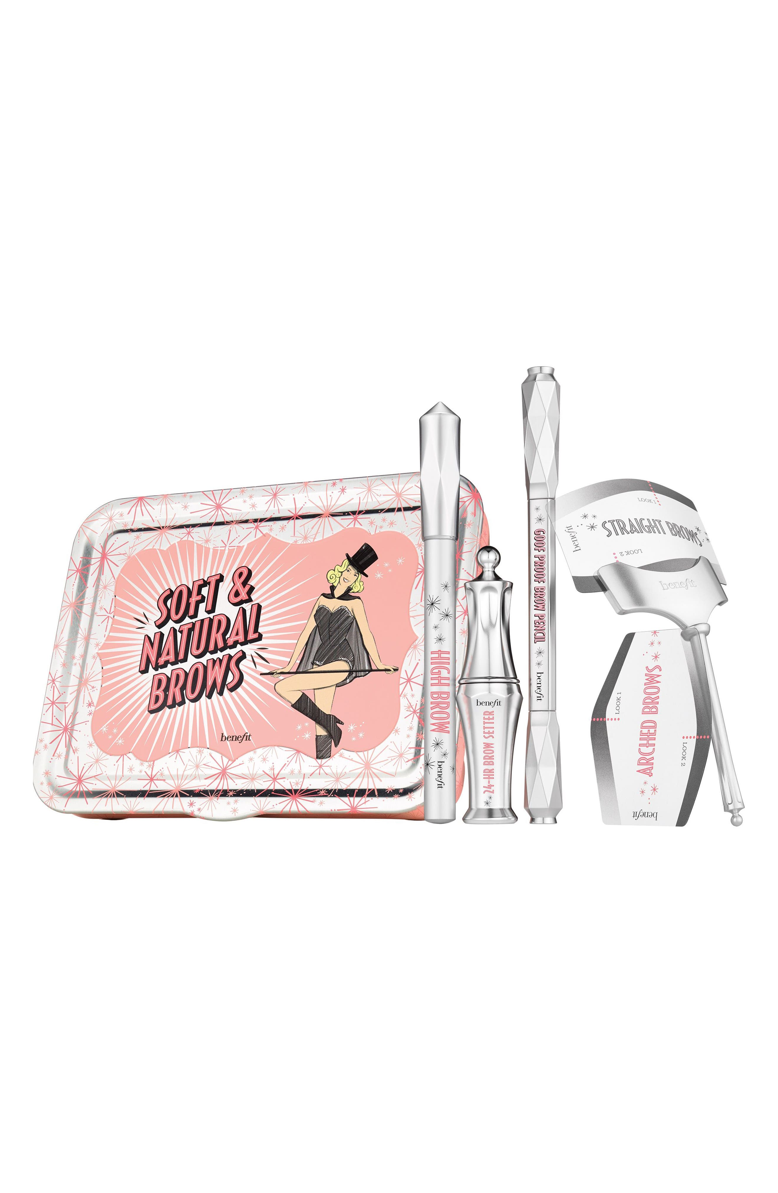 Benefit Soft & Natural Brows Kit,                             Alternate thumbnail 5, color,                             03 Medium