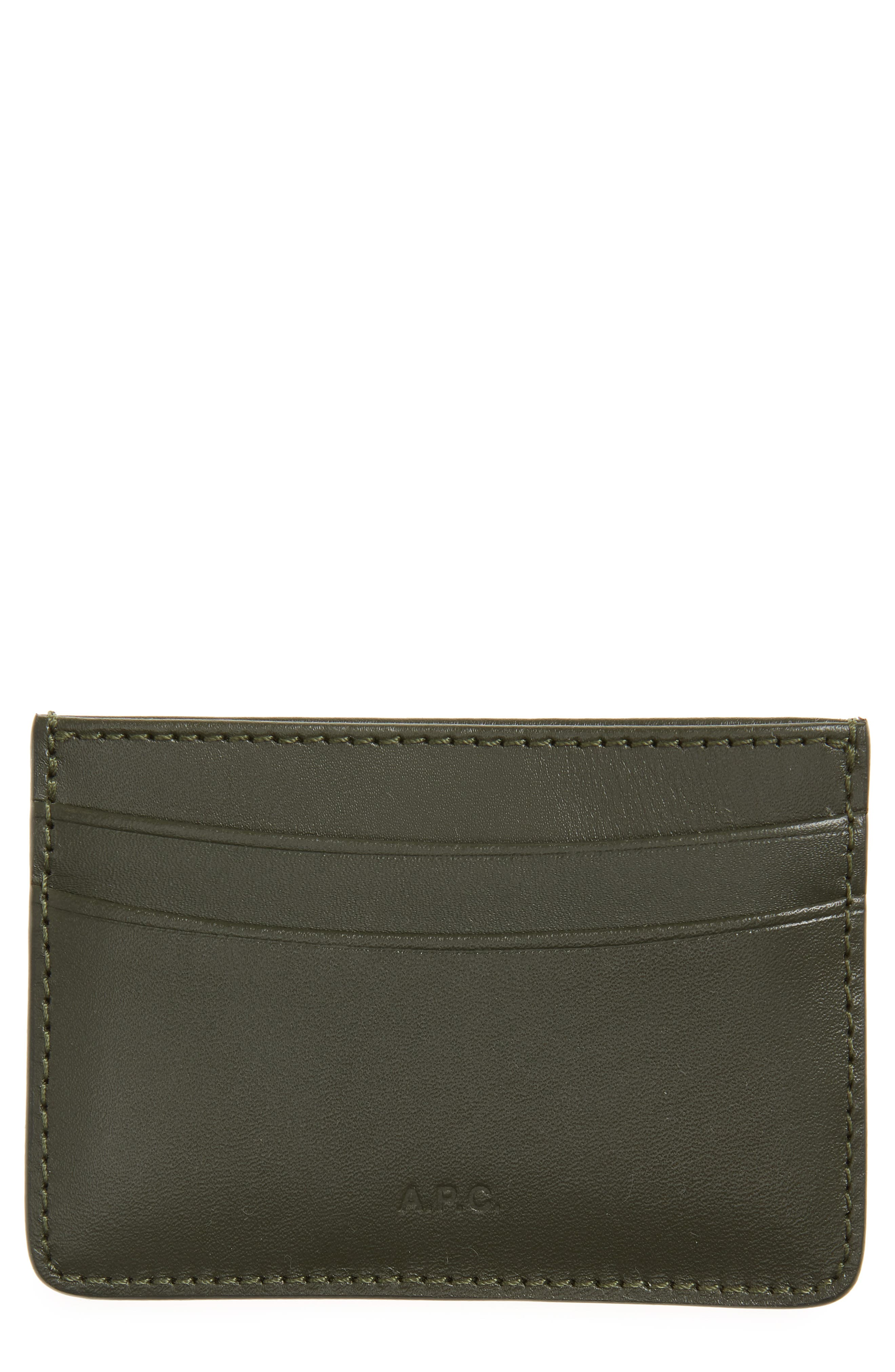 Main Image - A.P.C. Andre Leather Card Case