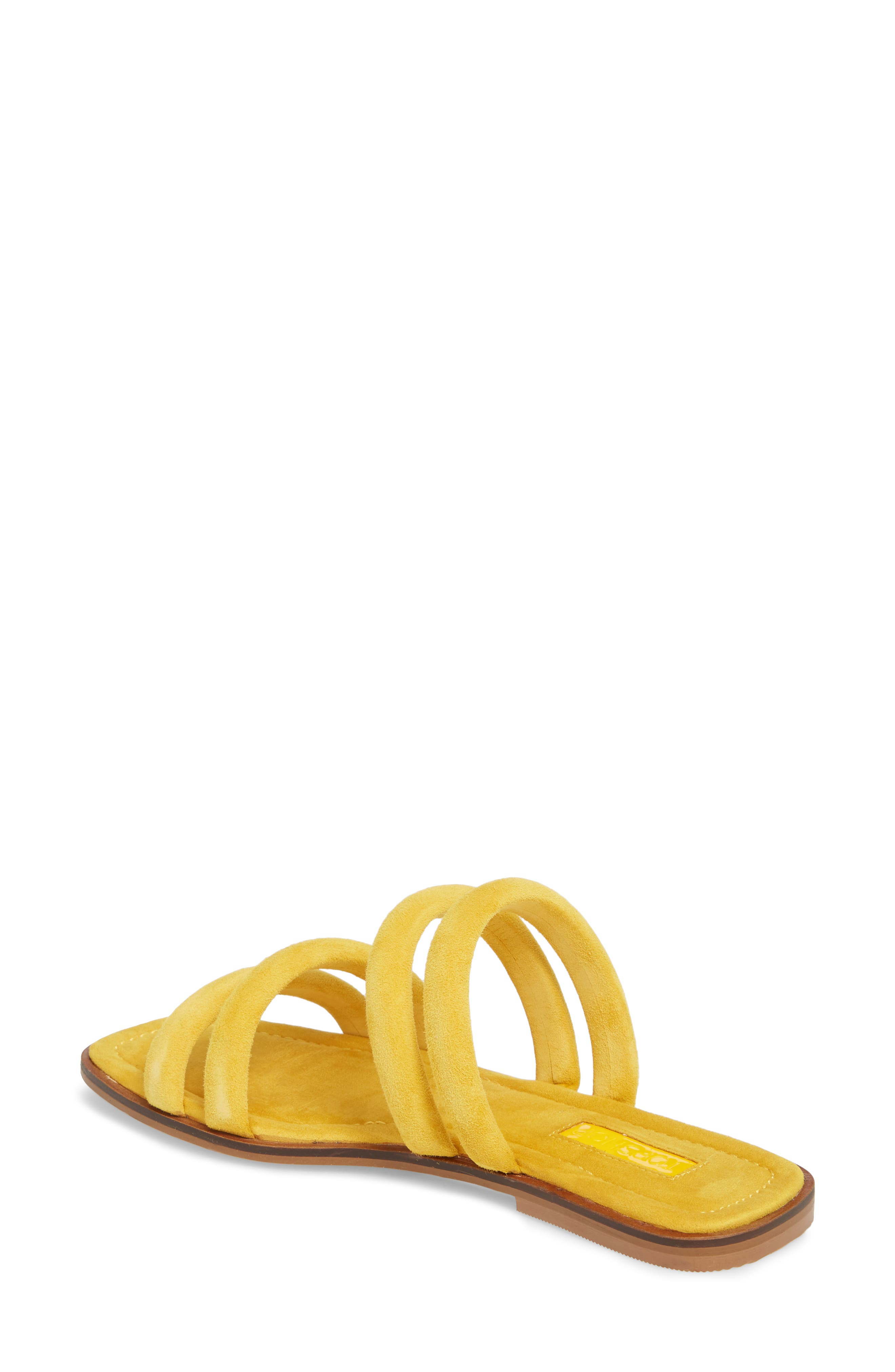 Fever Strappy Sandal,                             Alternate thumbnail 2, color,                             Yellow