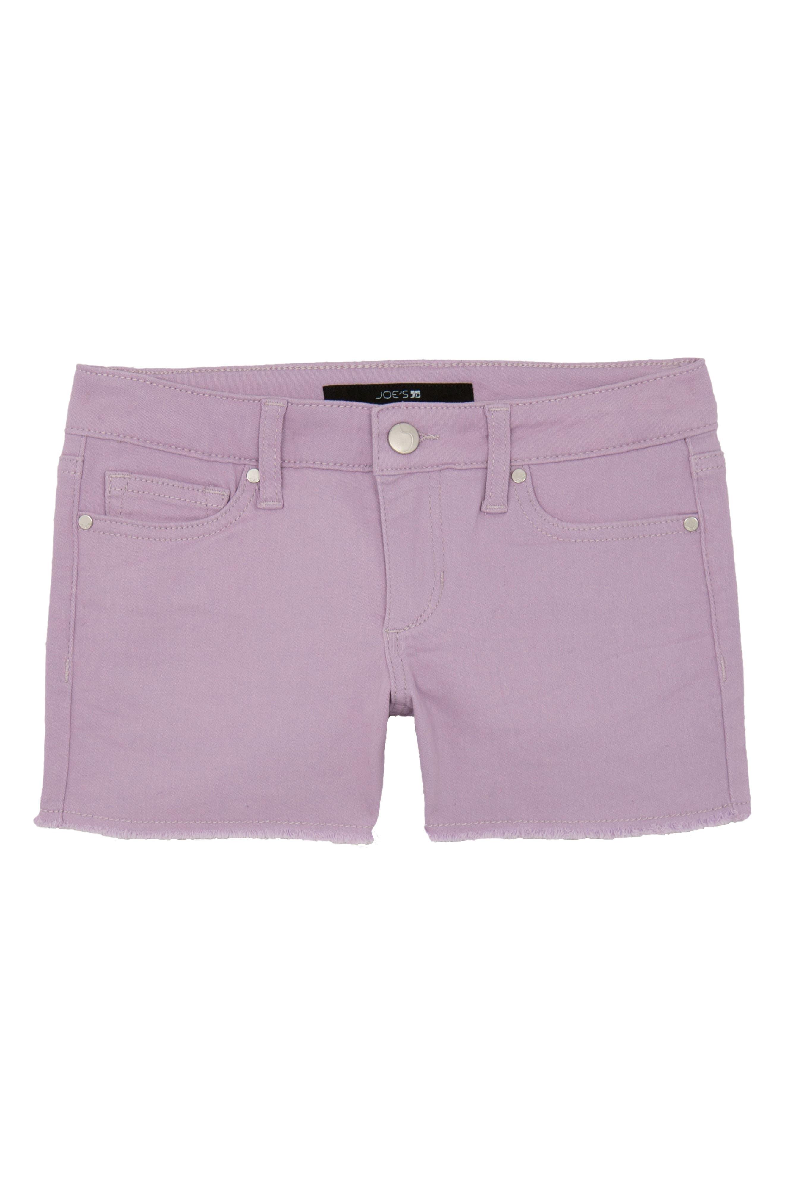 Joe's Frayed Cotton Shorts (Big Girls)