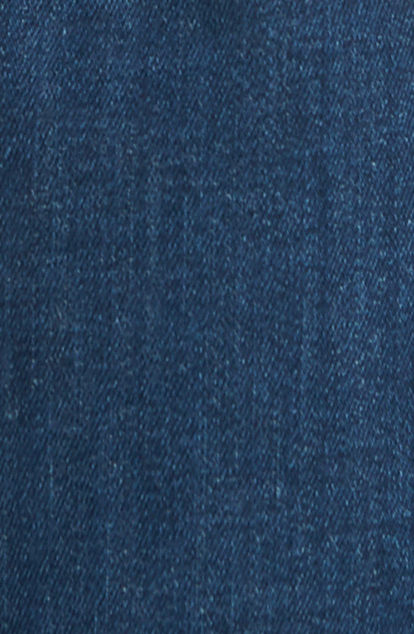 Marcus Slim Straight Leg Jeans,                             Alternate thumbnail 5, color,                             Mid Tonal Williamsburg