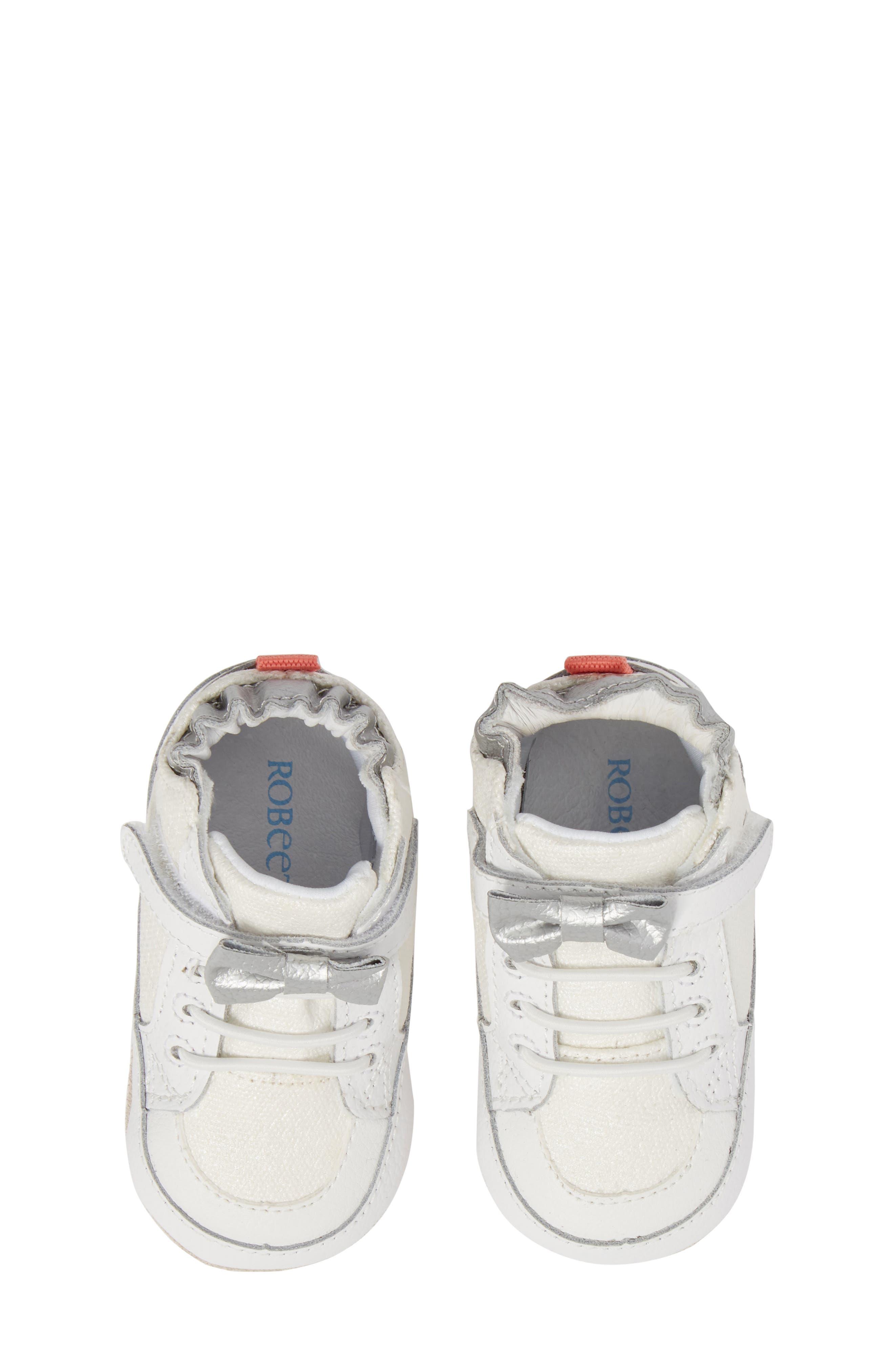 Robeez® Skipping Stella Sneaker (Baby & Walker)