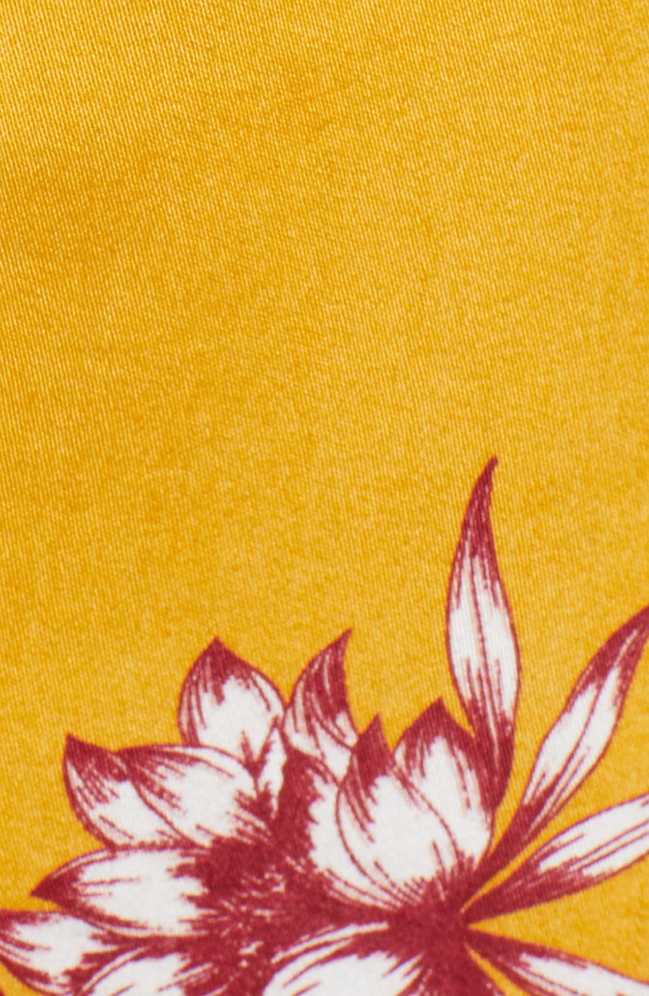 Searing Soul Midi Dress,                             Alternate thumbnail 7, color,                             Multi