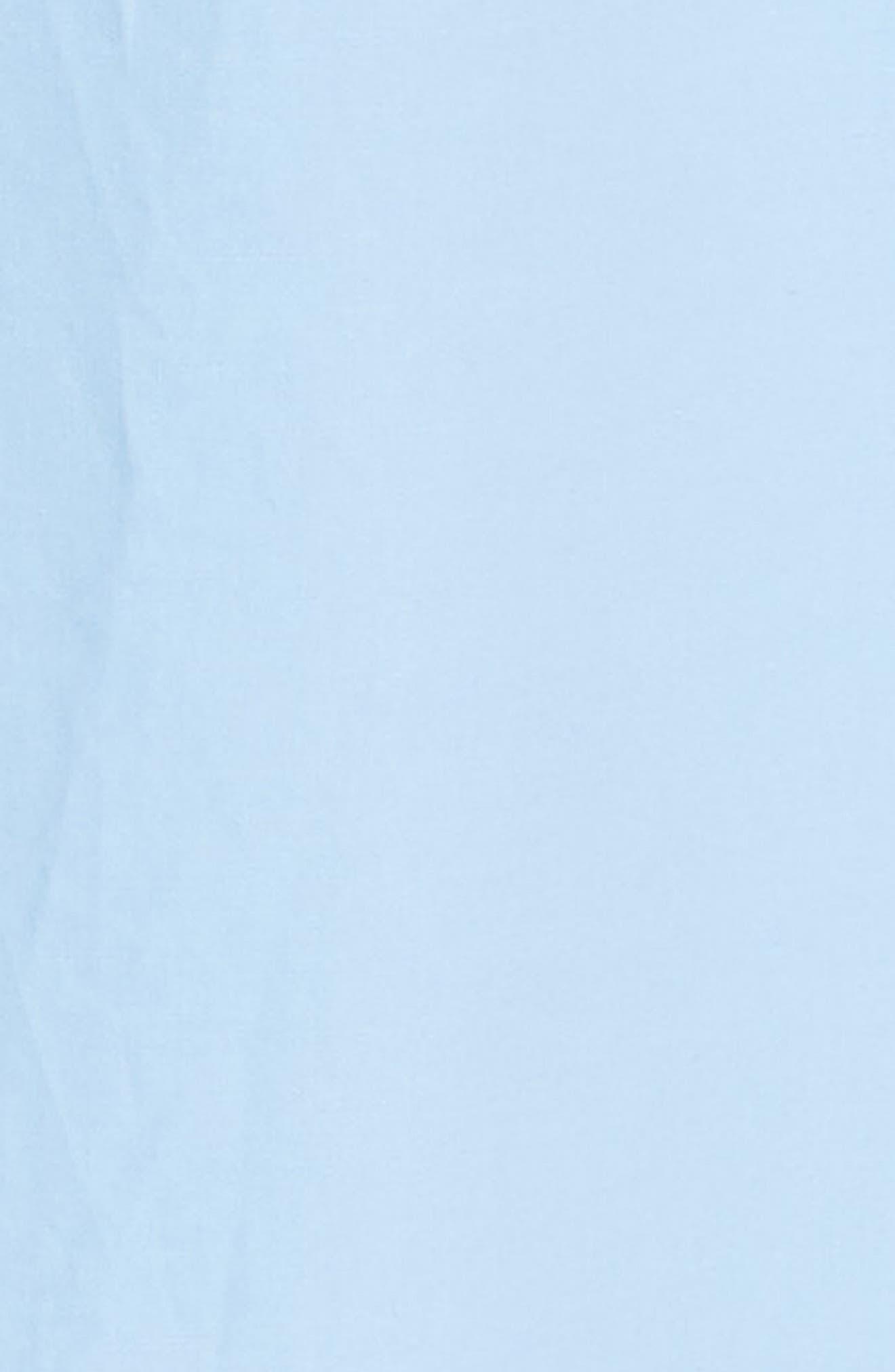 Alternate Image 5  - sandro Bleu Ciel Cotton Shirtdress