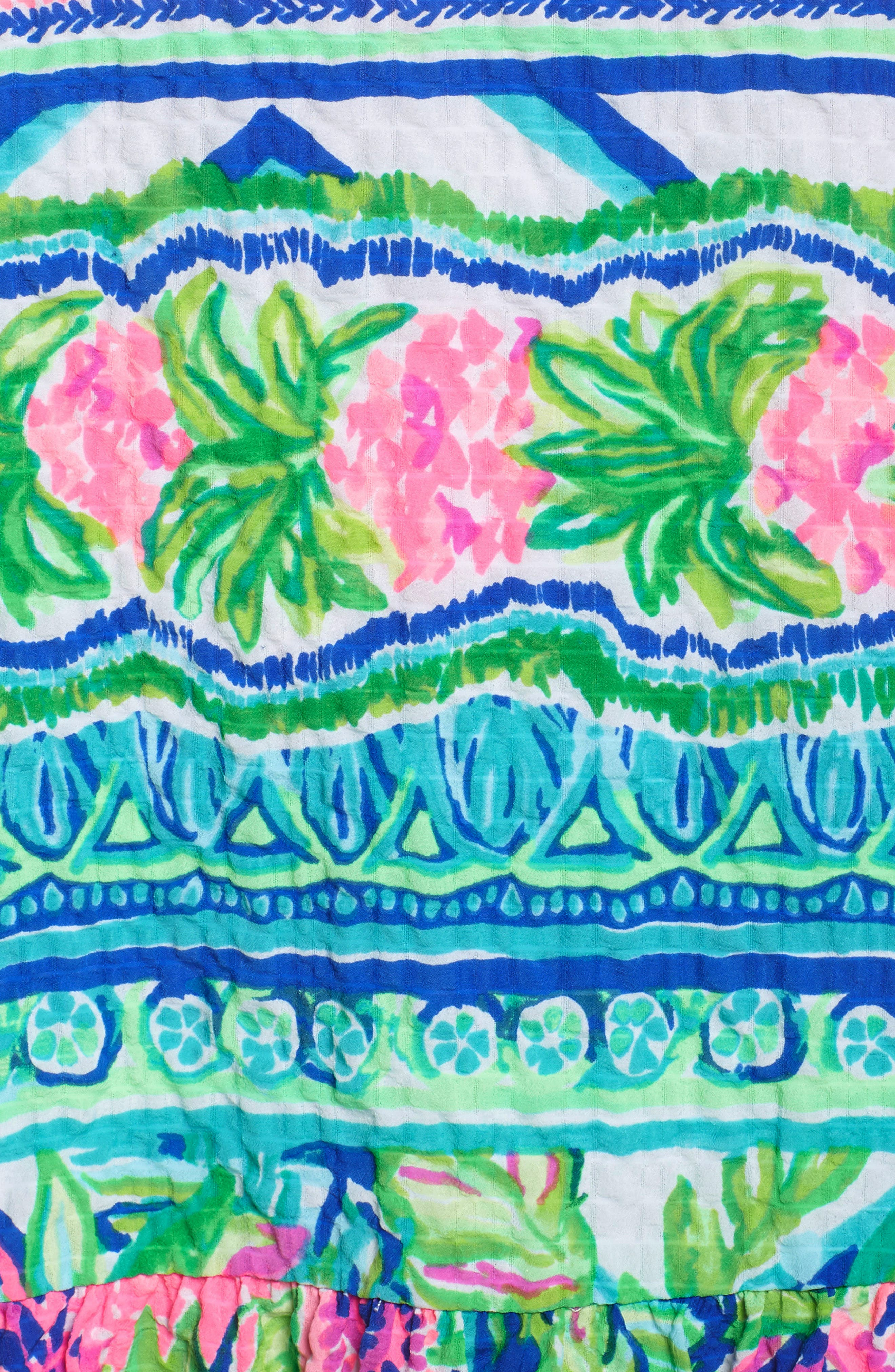 Lilly Pulitzer Gabriella Dress,                             Alternate thumbnail 5, color,                             Multi Daquiri Shack