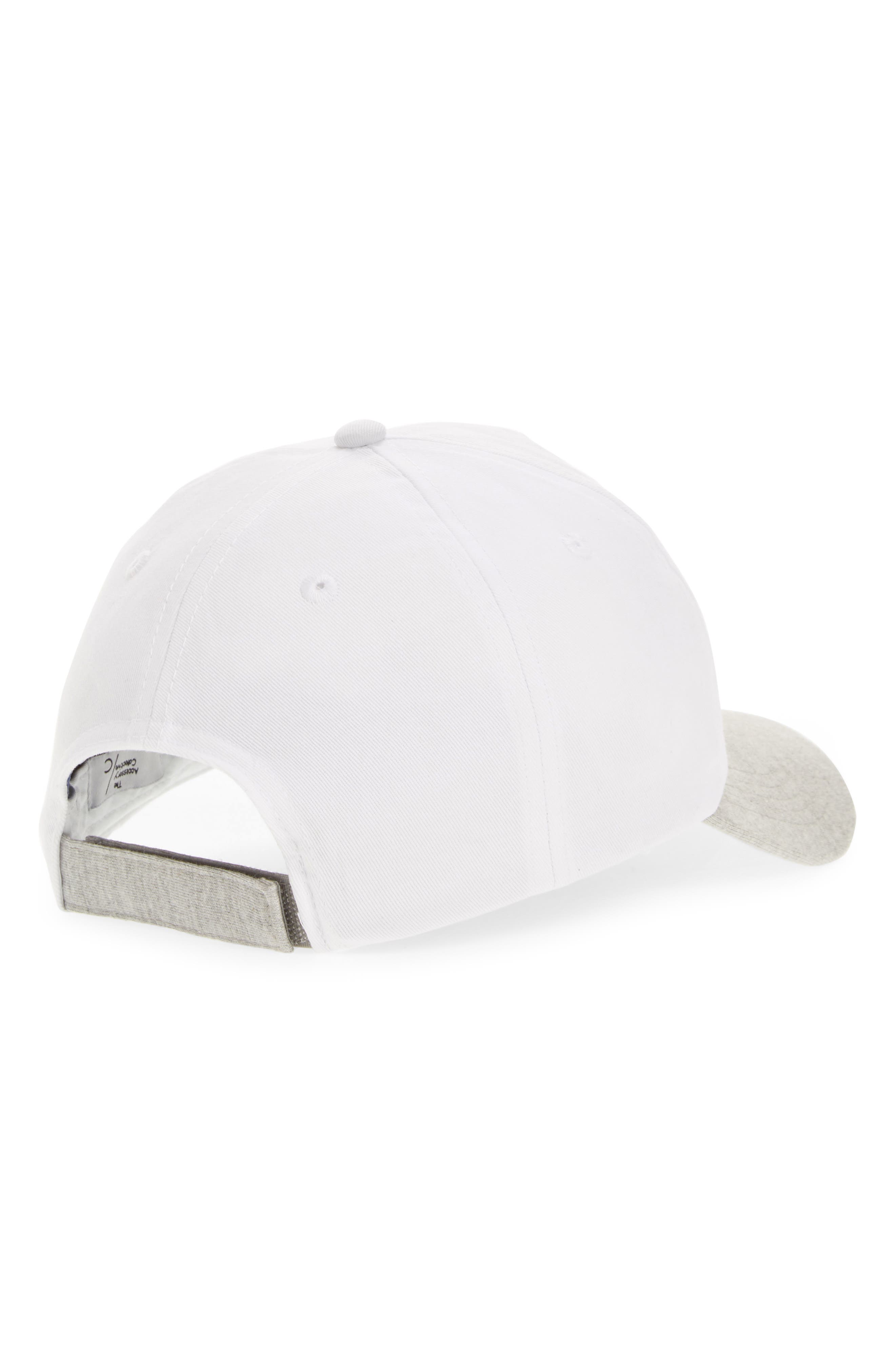 Alternate Image 2  - Accessory Collective Happiness Baseball Cap (Girls)