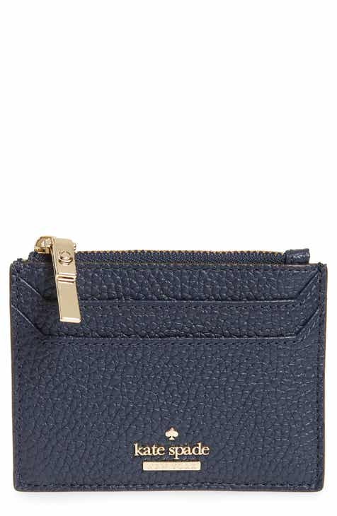 Card cases wallets card cases for women nordstrom kate spade new york oakwood street lalena leather card case colourmoves