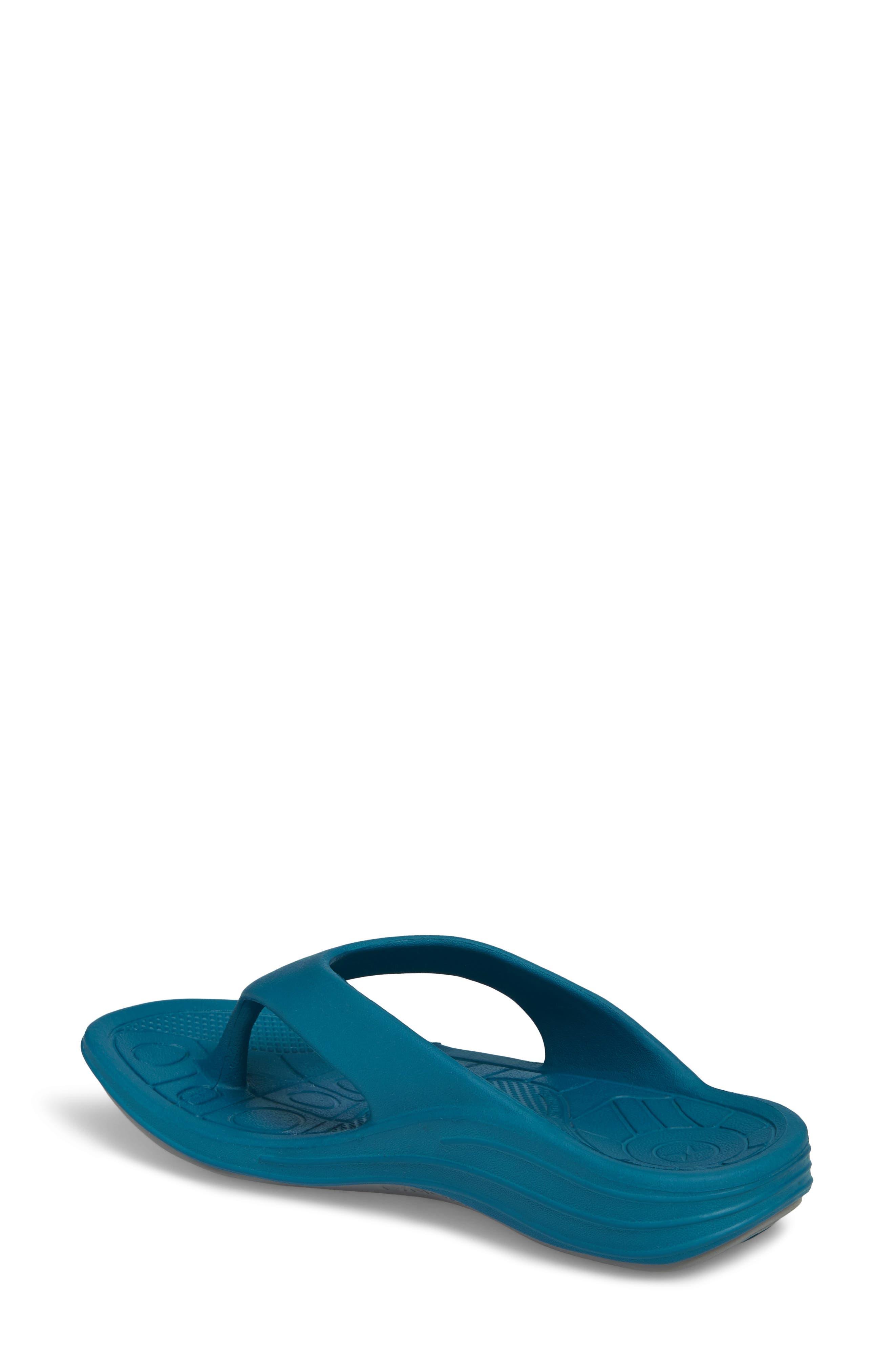 Lynco Flip Flop,                             Alternate thumbnail 2, color,                             Blue