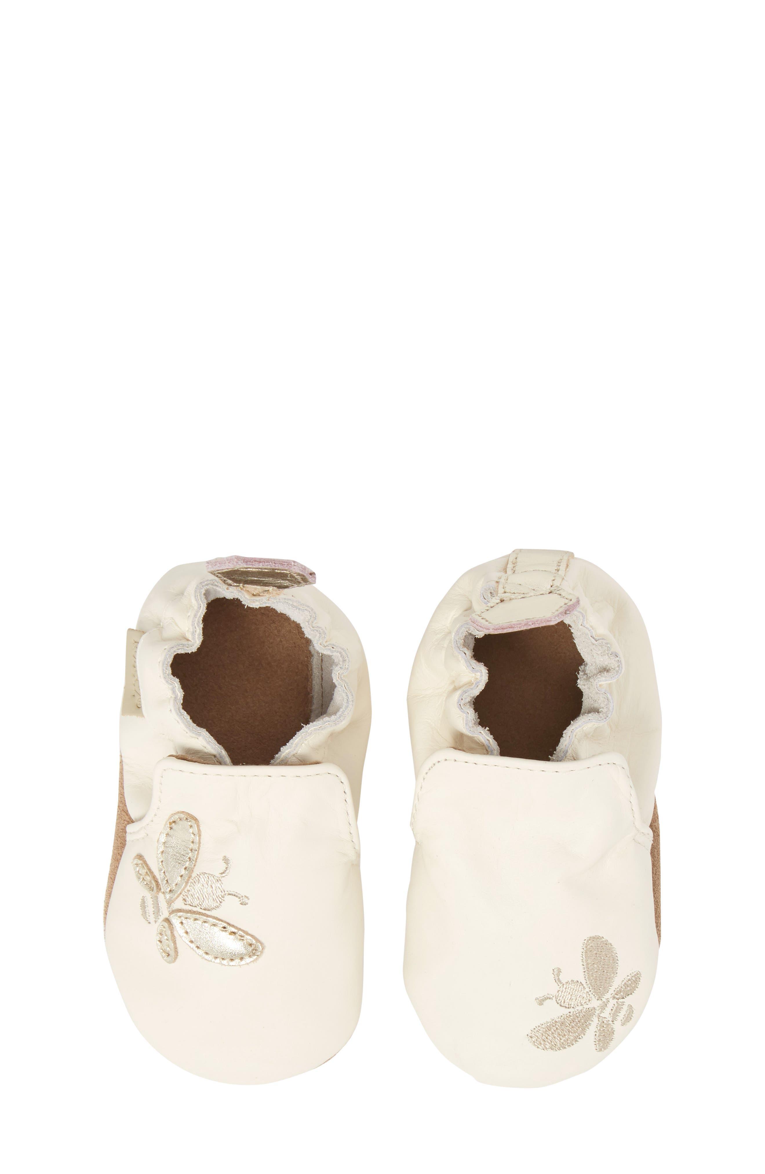 Robeez® Bee Moccasin Sneaker (Baby & Walker)