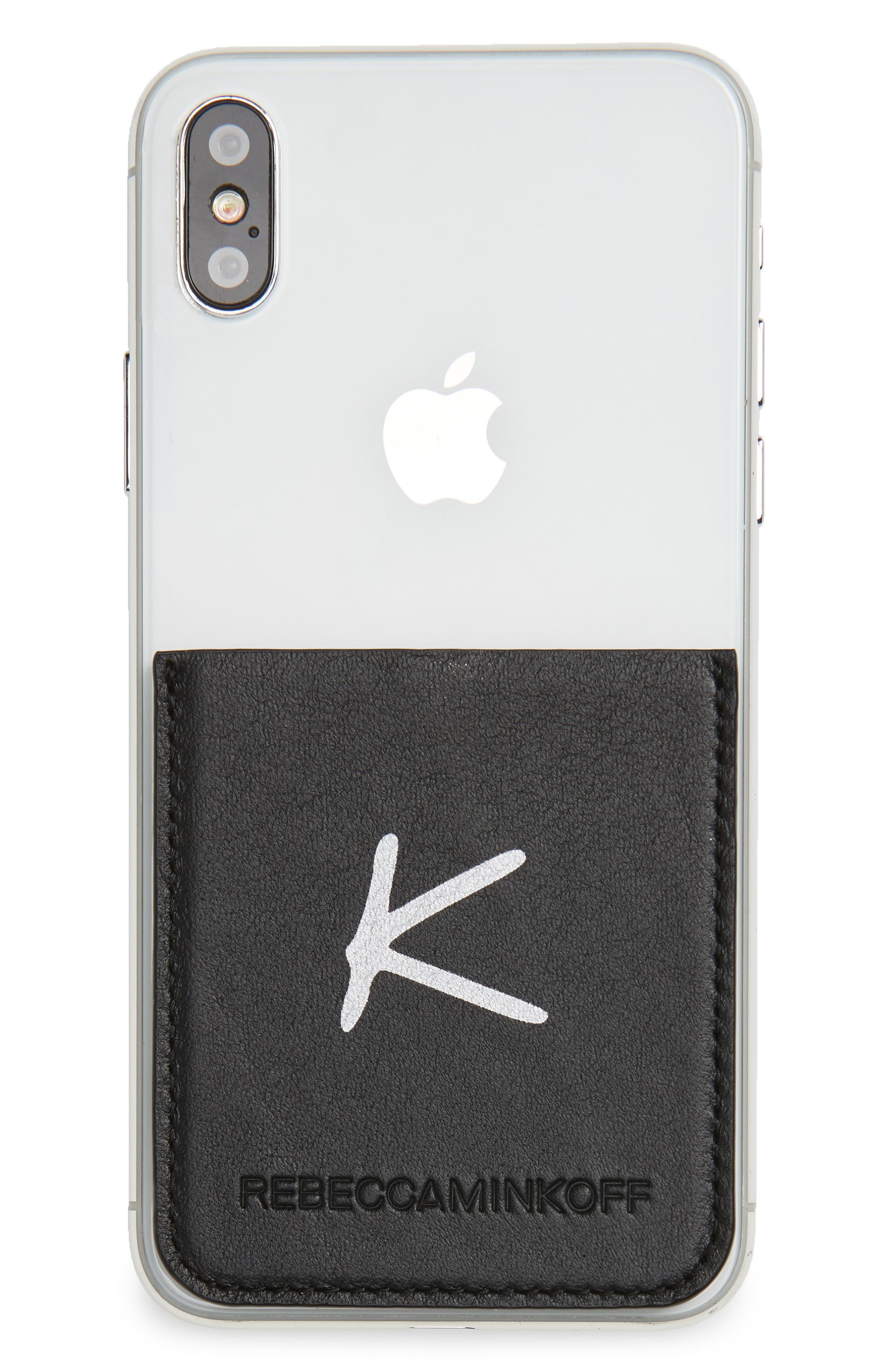 Initial Smartphone Sticker Pocket,                             Alternate thumbnail 2, color,