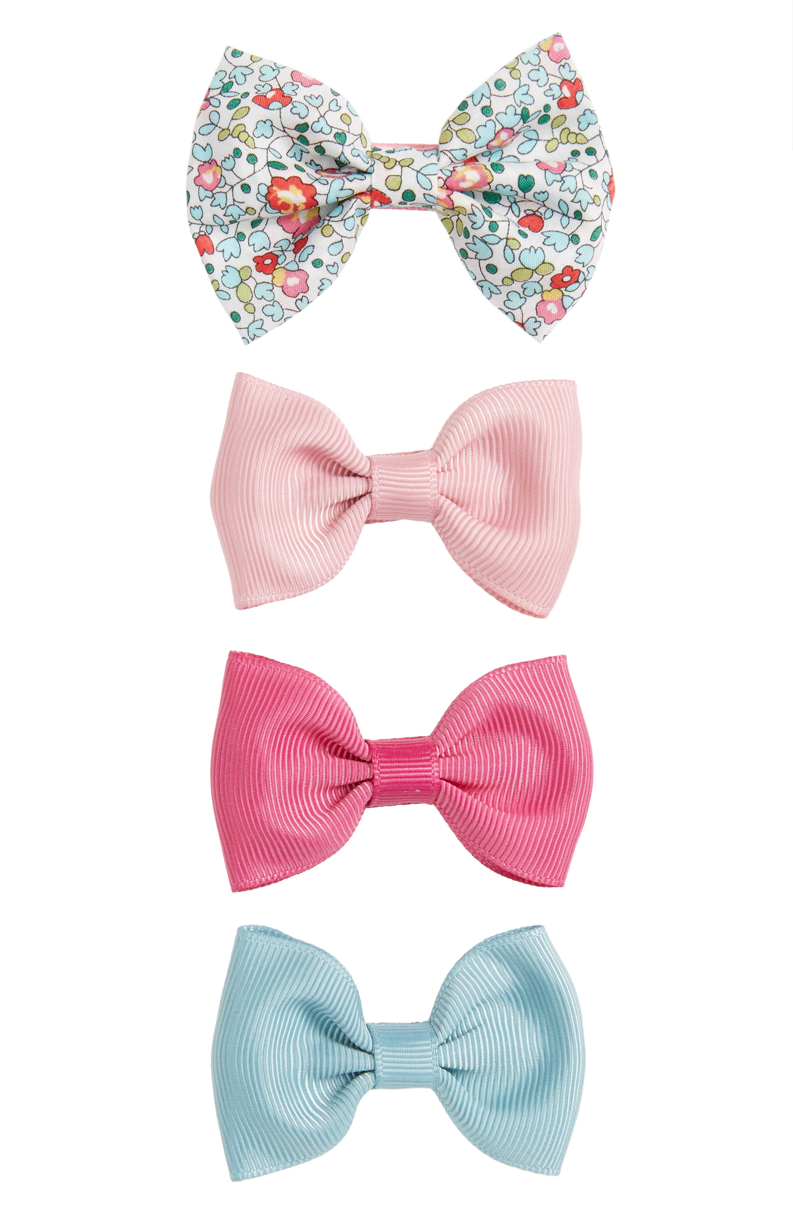 Milledeux 4-Piece Bows Hair Clip Set (Girls)
