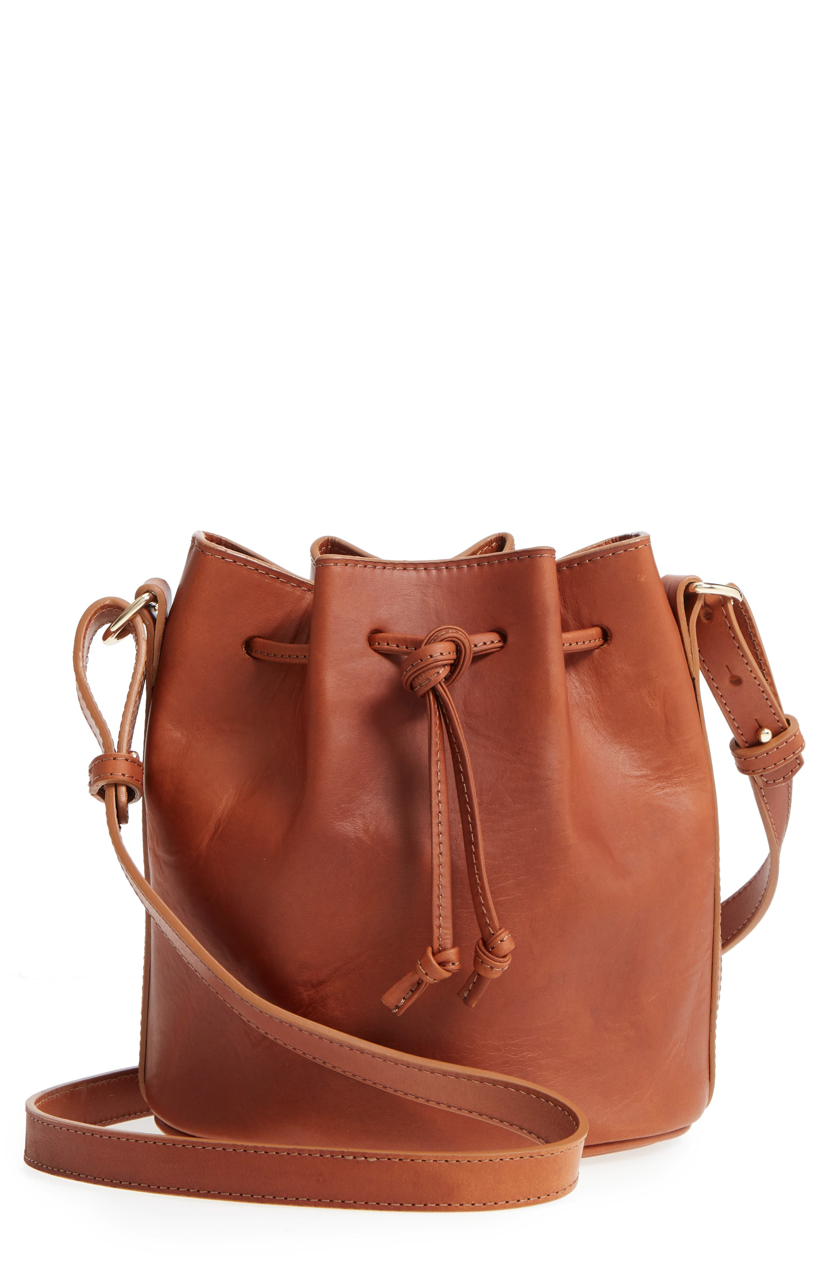 Sézane Mini Farrow Bucket Bag
