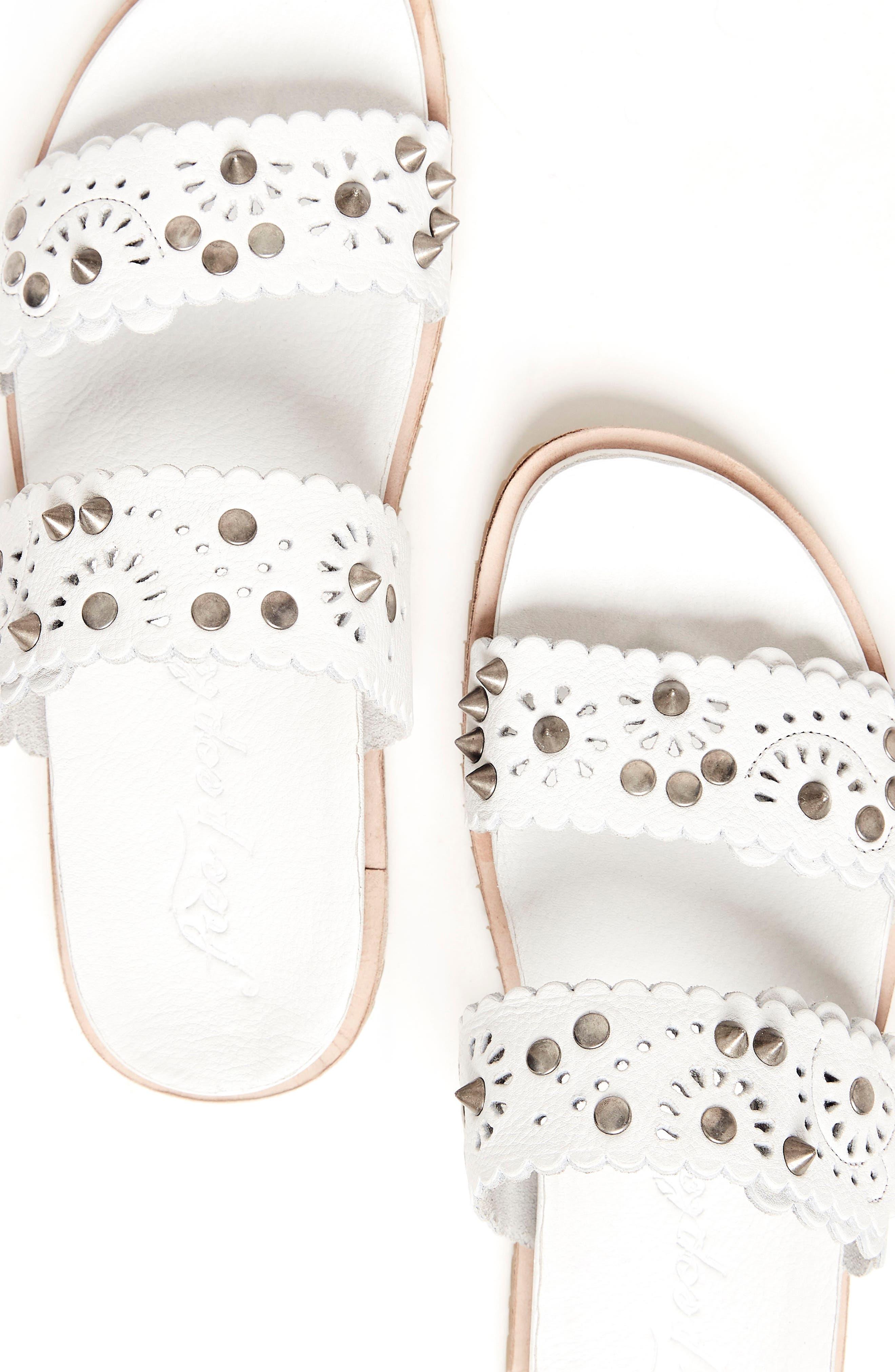 Spellbound Embellished Slide Sandal,                             Alternate thumbnail 8, color,