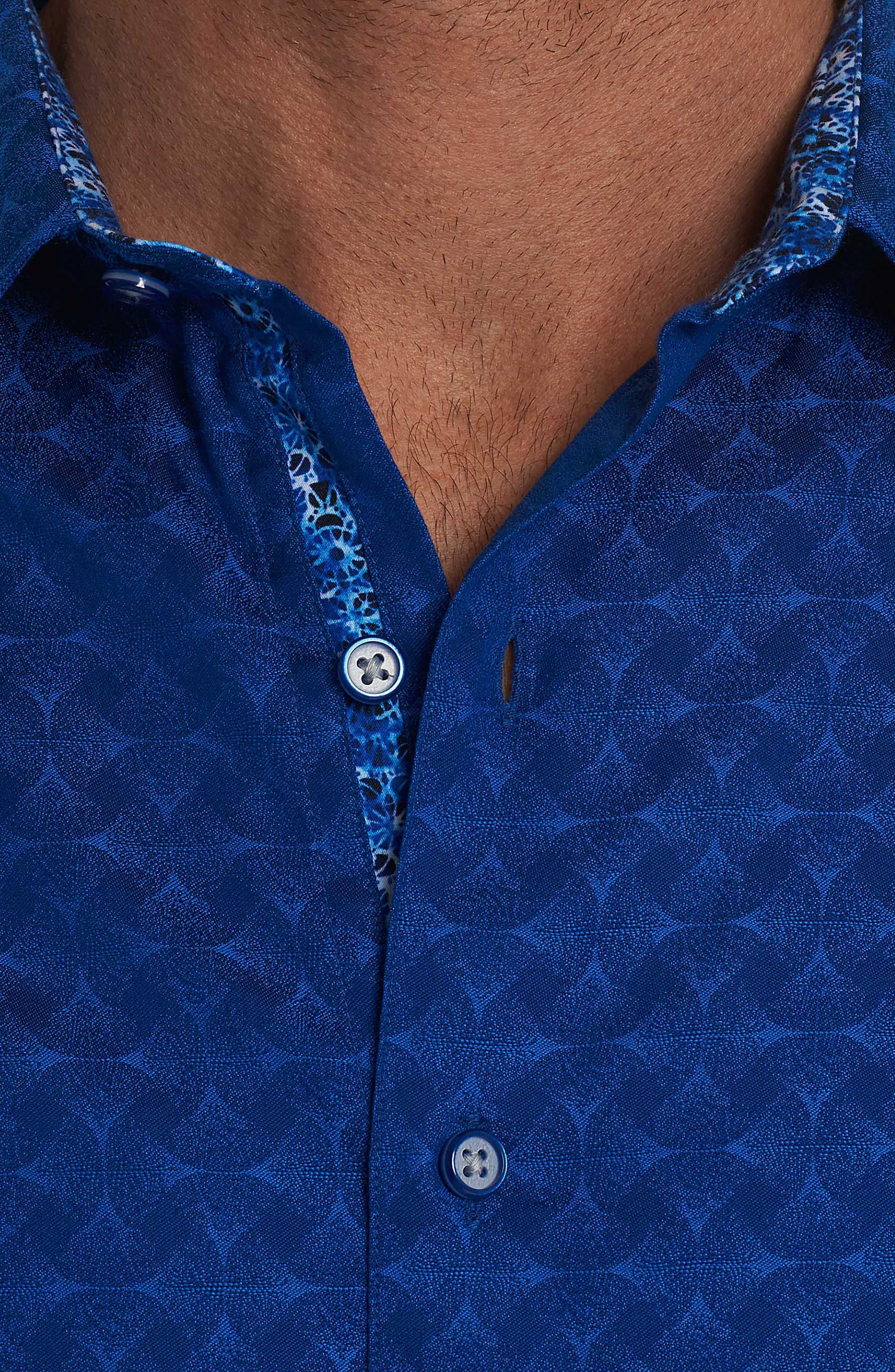 Alternate Image 3  - Robert Graham Diamante Classic Fit Print Sport Shirt