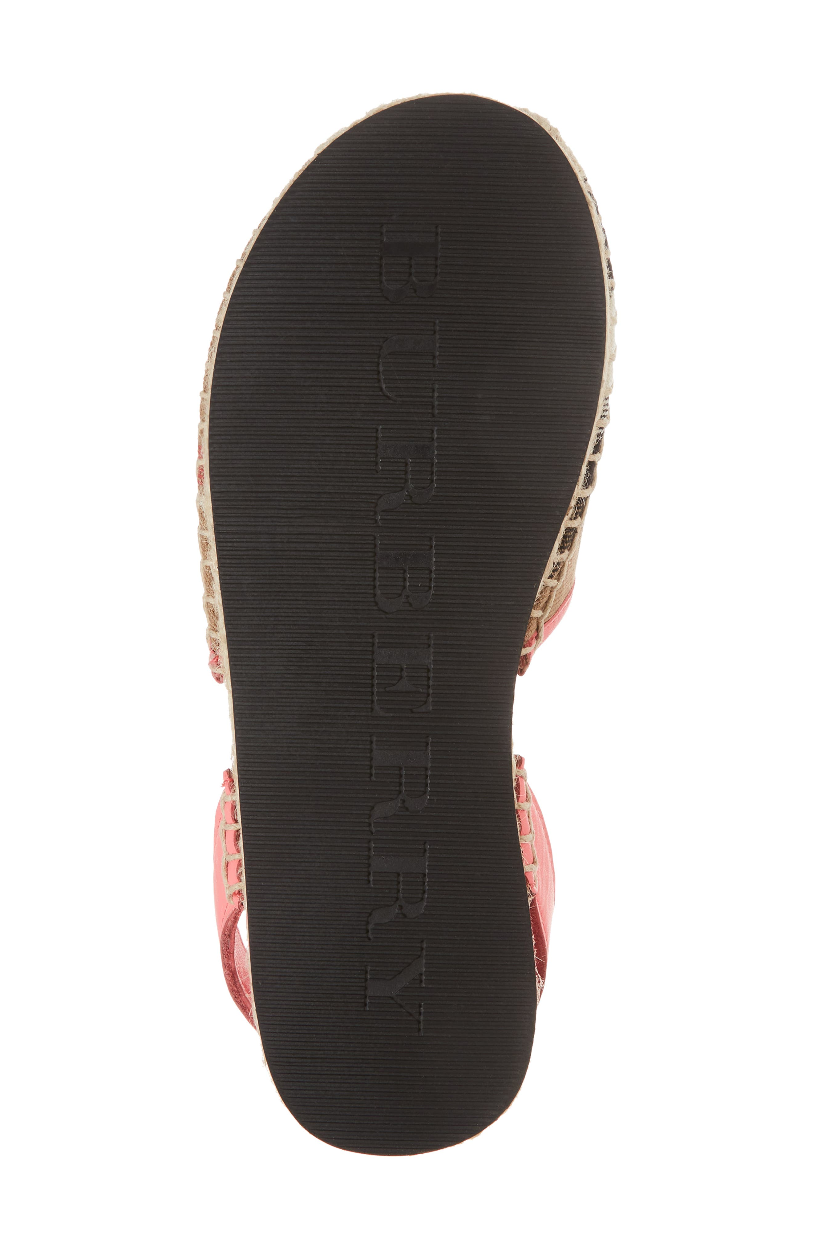 New Perth Espadrille Sandal,                             Alternate thumbnail 6, color,                             Bright Peony Rose