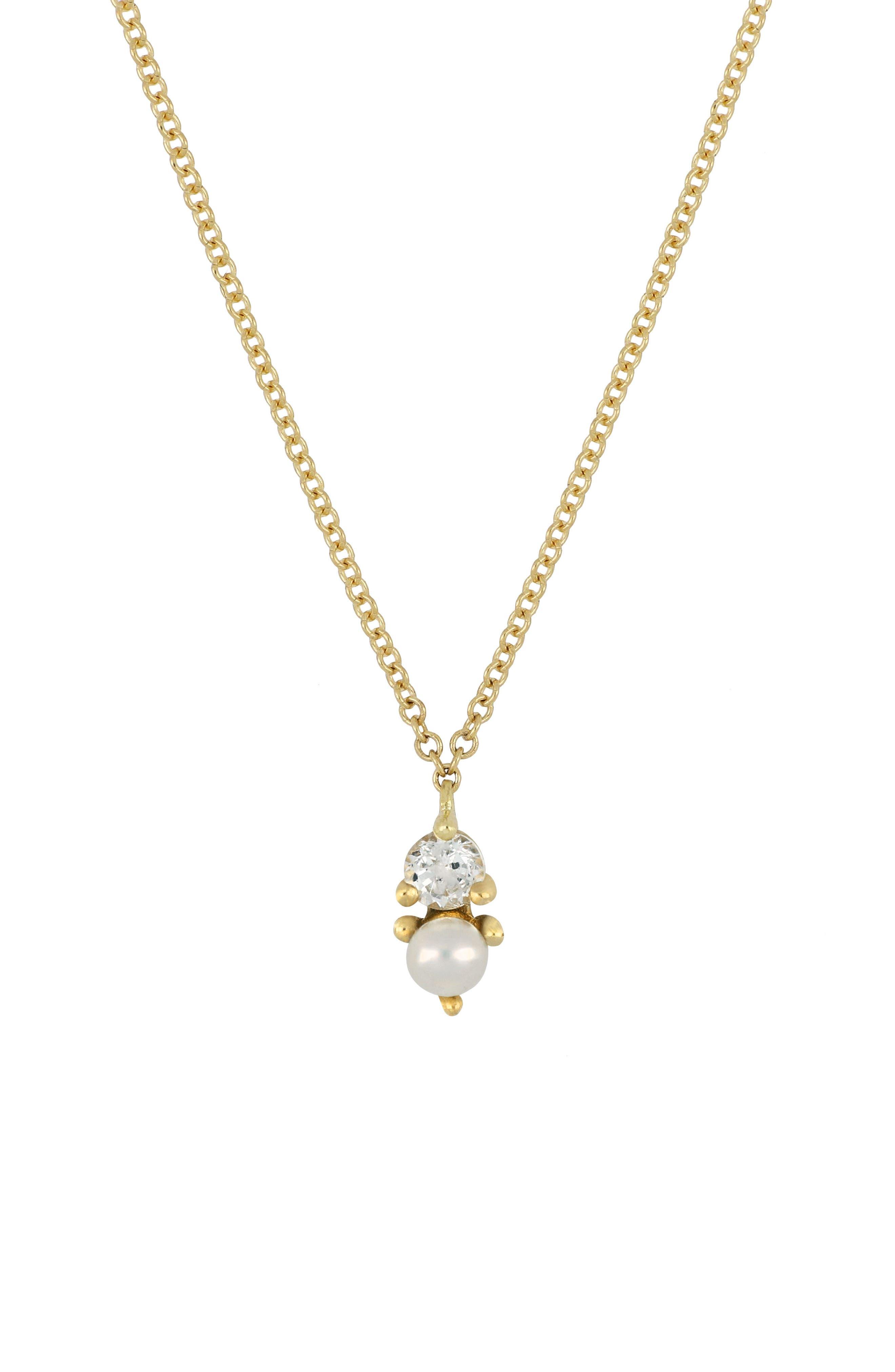 Bony Levy Birthstone Pendant Necklace (Nordstrom Exclusive)