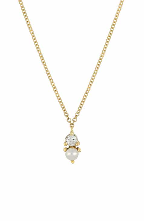 Bony Levy Birthstone Pendant Necklace (Nordstrom Exclusive) b5e563aa76