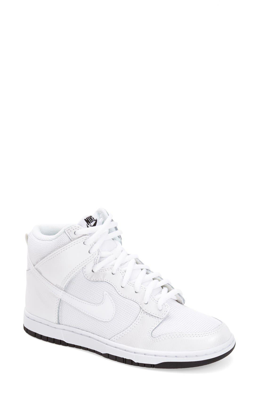 Alternate Image 1 Selected - Nike 'Dunk High Skinny' Sneaker (Women)