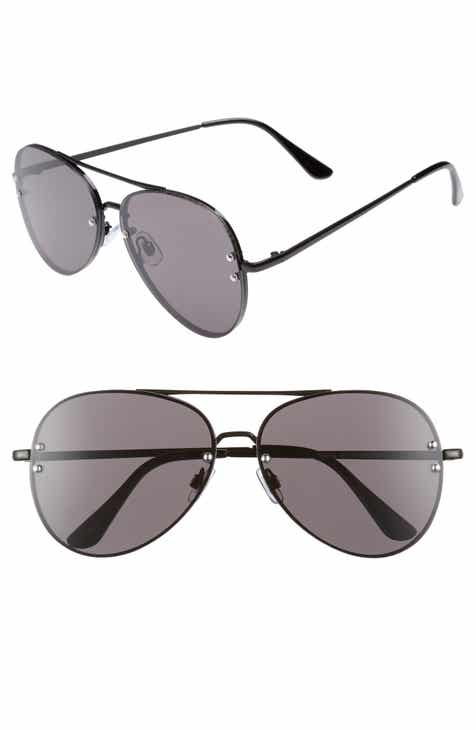 4d5fa1106c 60mm Oversize Mirrored Aviator Sunglasses