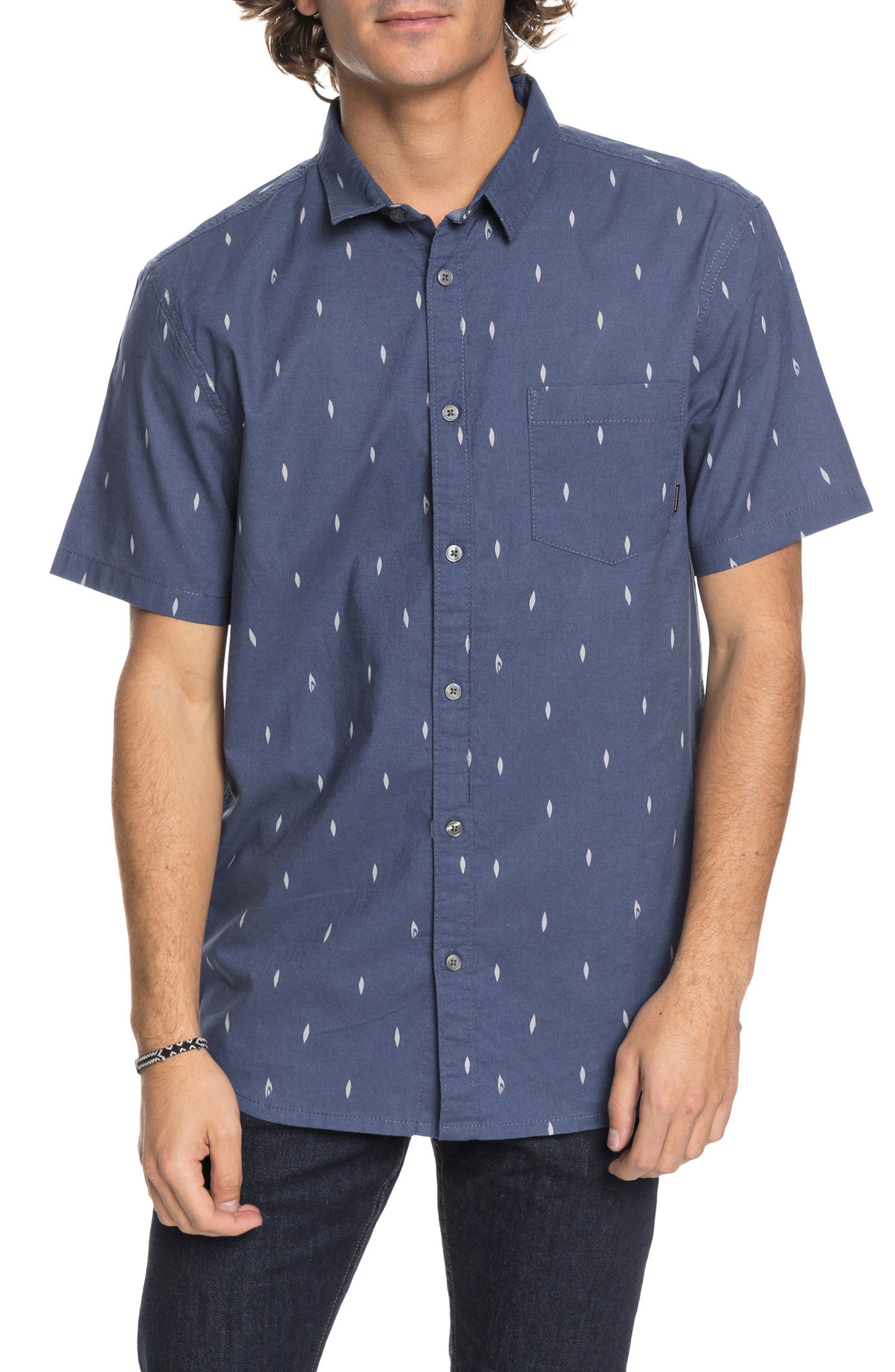 Quiksilver Abstract Boards Woven Shirt