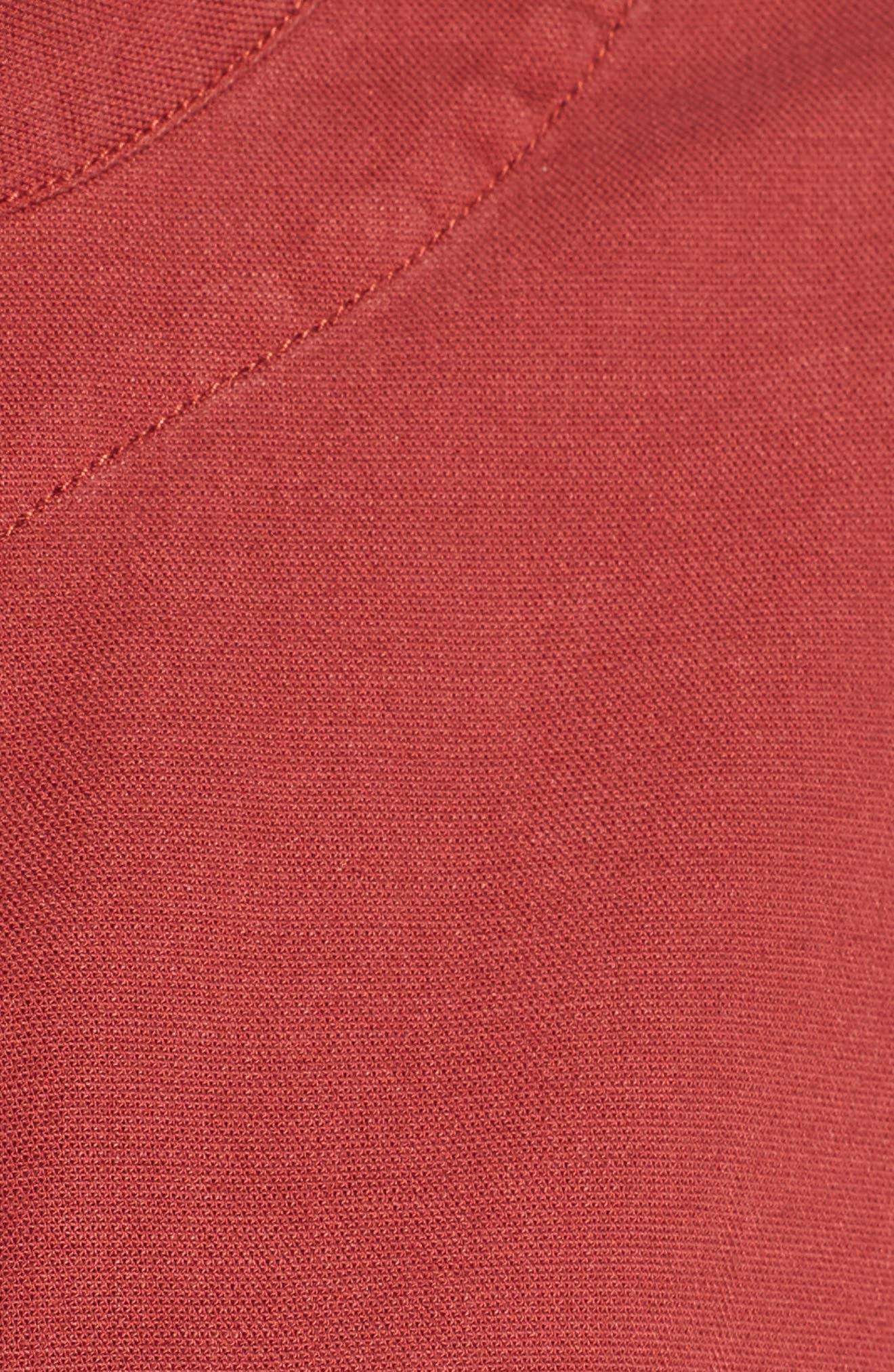 Cargo Jacket,                             Alternate thumbnail 5, color,                             Rhubarb
