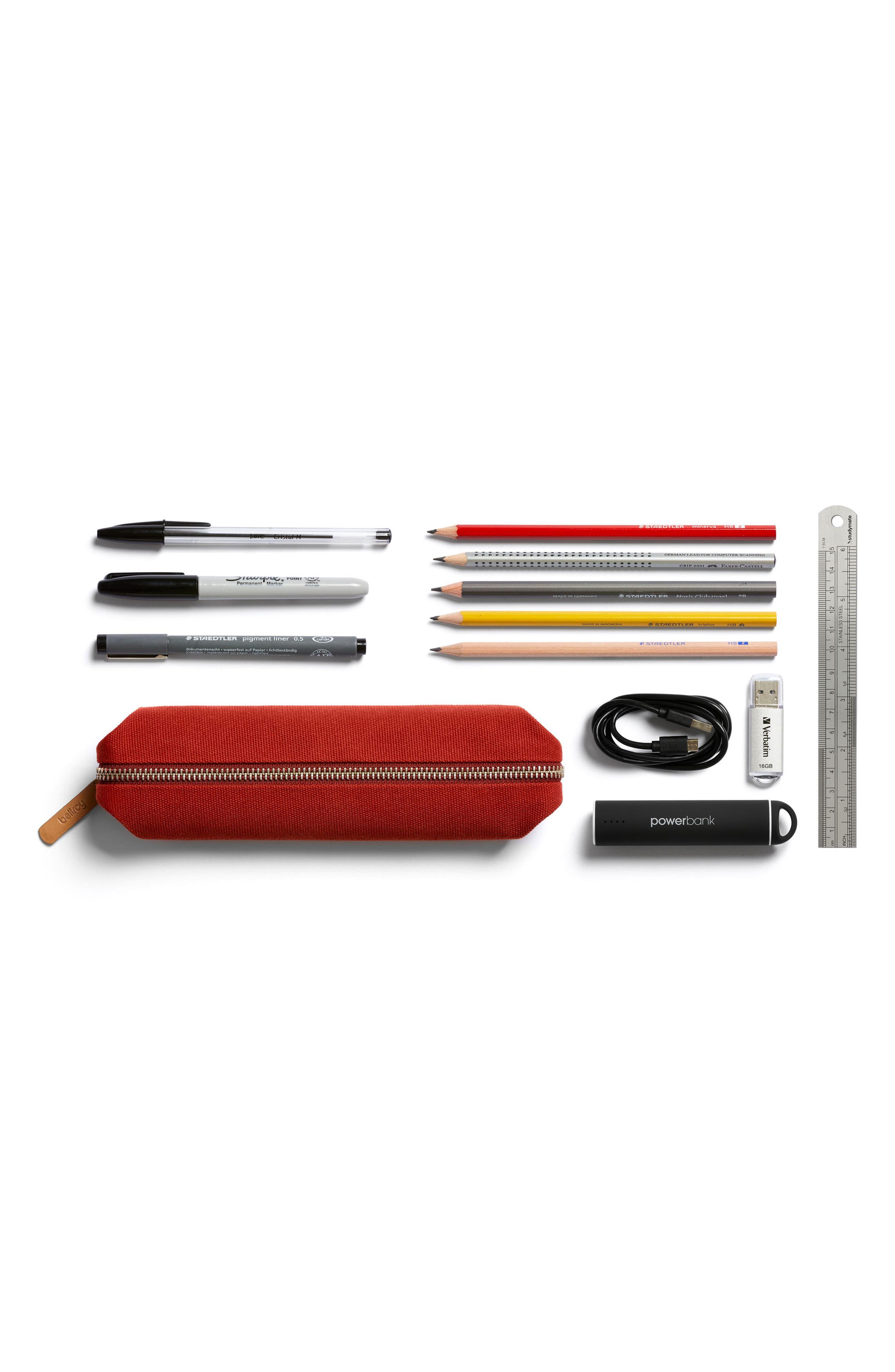 Canvas Pencil Case,                             Alternate thumbnail 5, color,