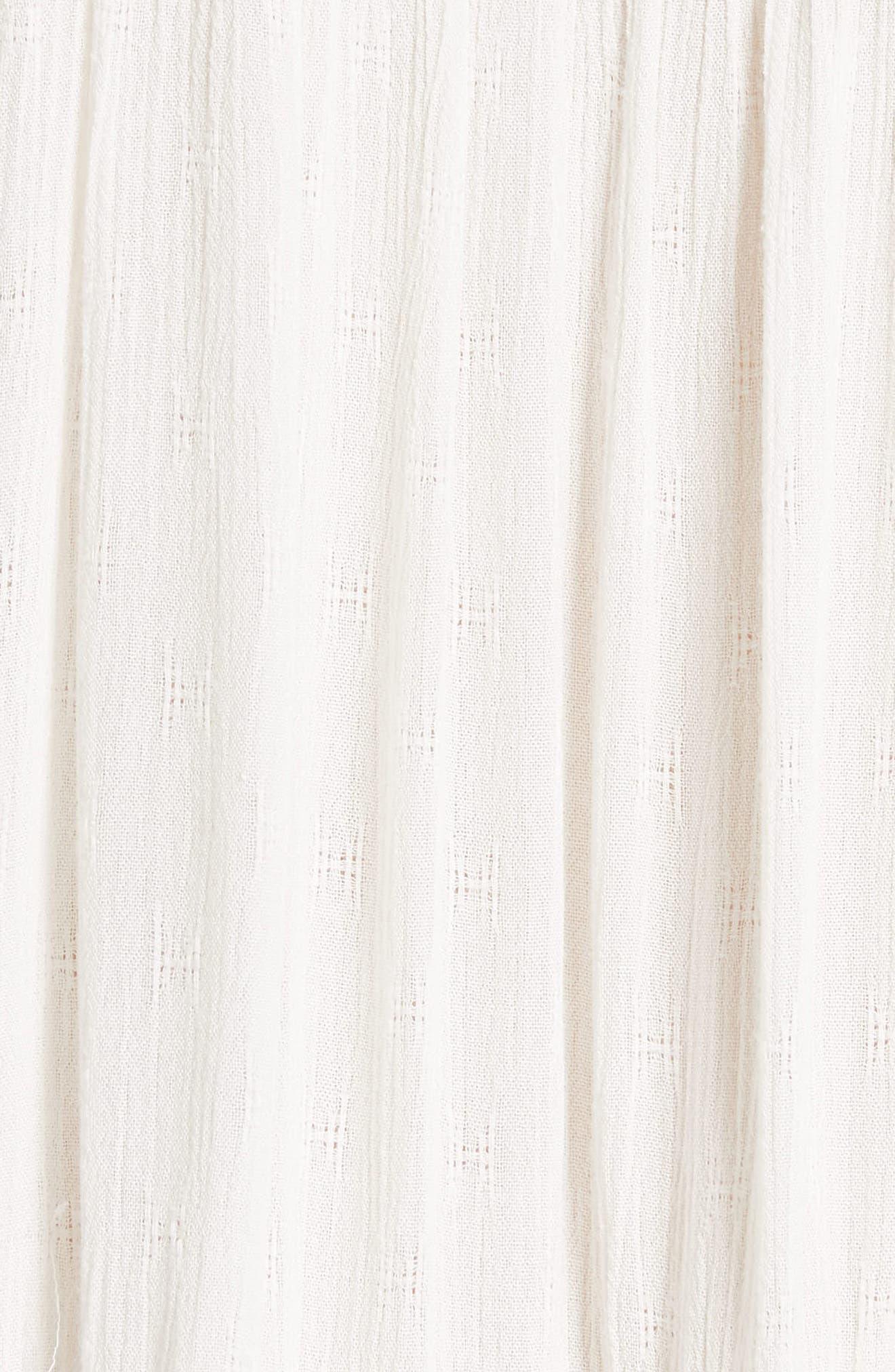 Arianna Tunic,                             Alternate thumbnail 5, color,                             Ivory
