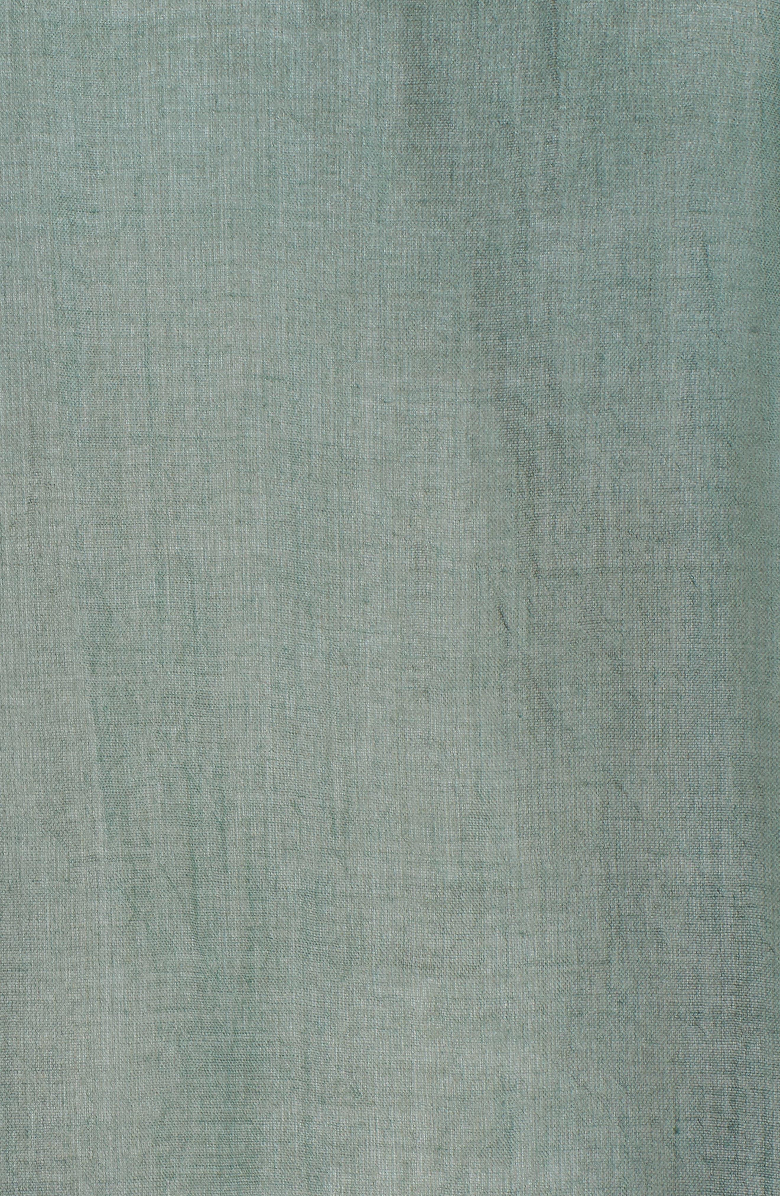 Organic Cotton Poncho,                             Alternate thumbnail 5, color,                             Nori
