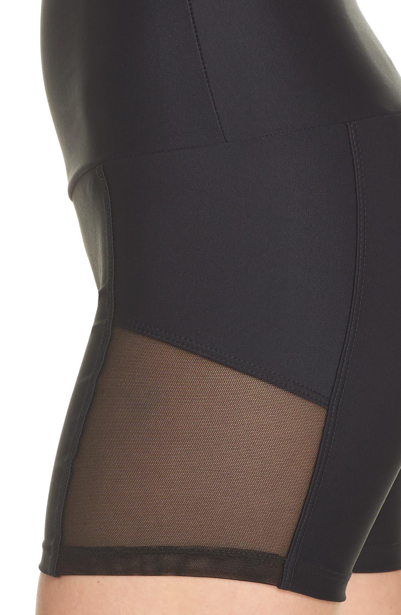 Stunner Shorts,                             Alternate thumbnail 4, color,                             Black
