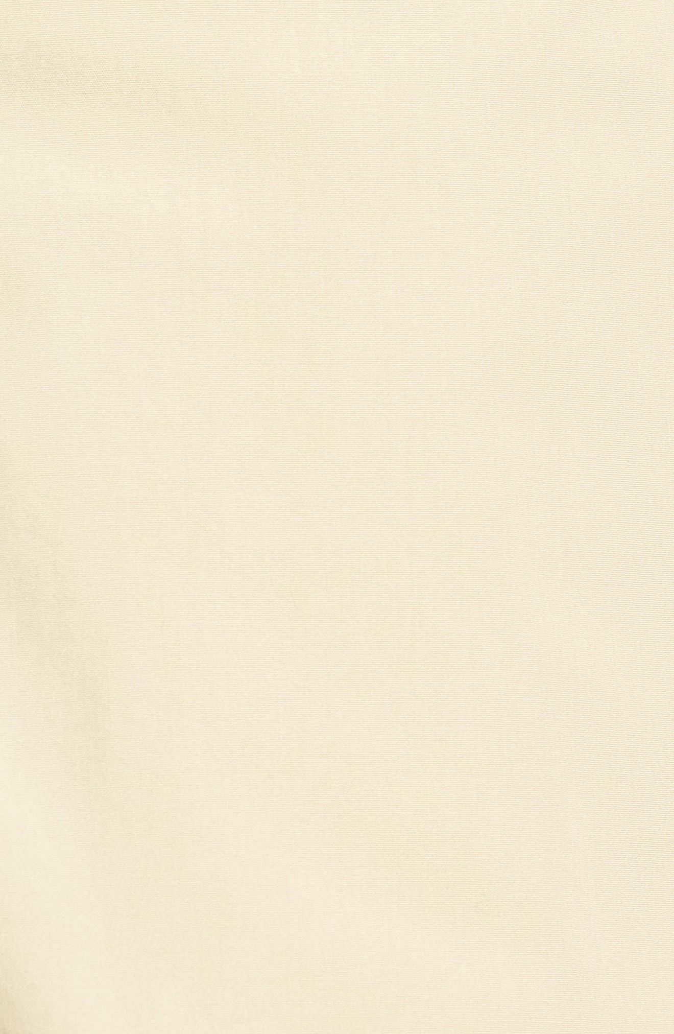M2 Classic Fit Flat Front Tropical Cotton Poplin Shorts,                             Alternate thumbnail 5, color,                             Khaki