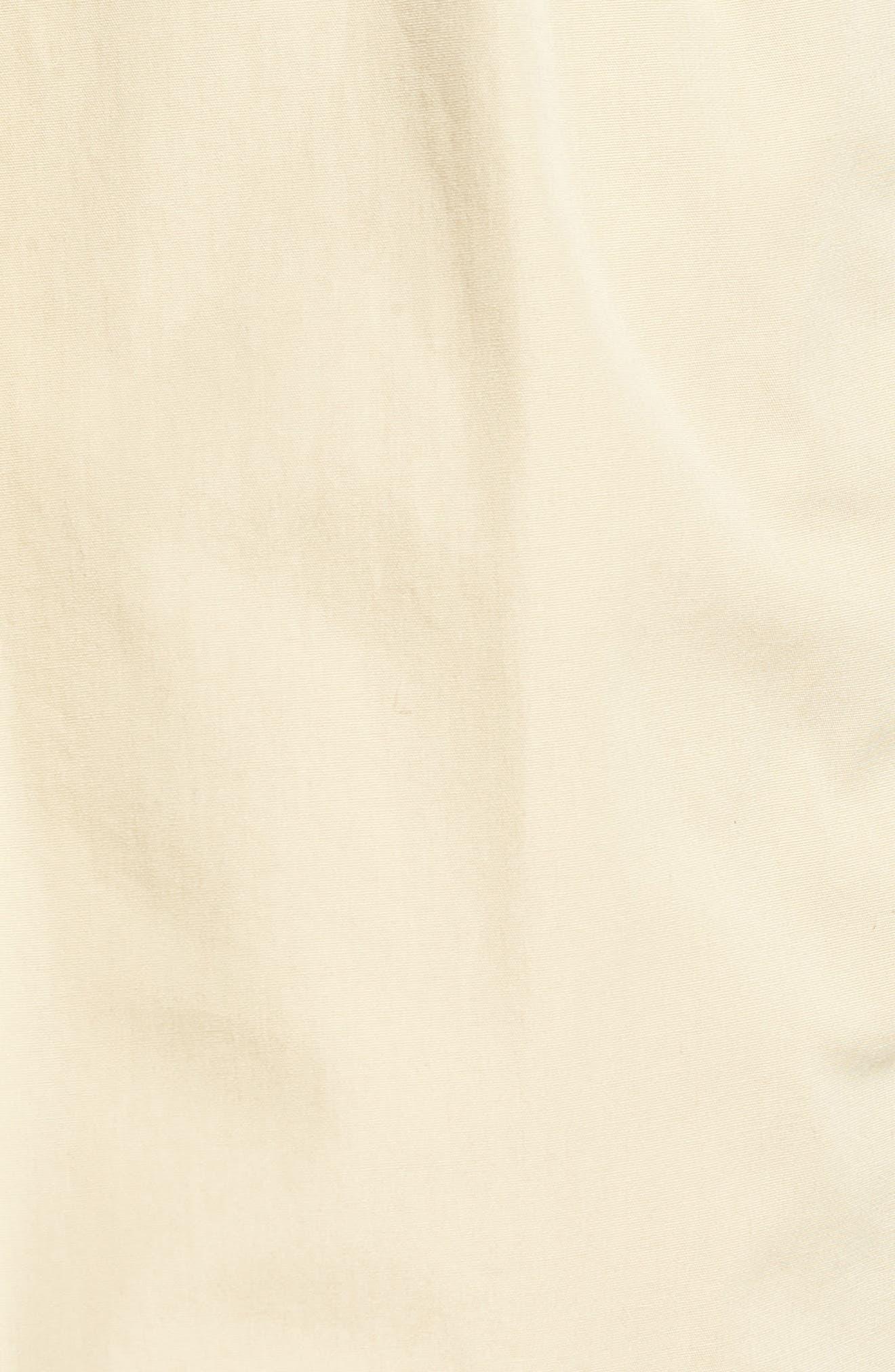 M2 Classic Fit Pleated Tropical Cotton Poplin Shorts,                             Alternate thumbnail 5, color,                             Khaki