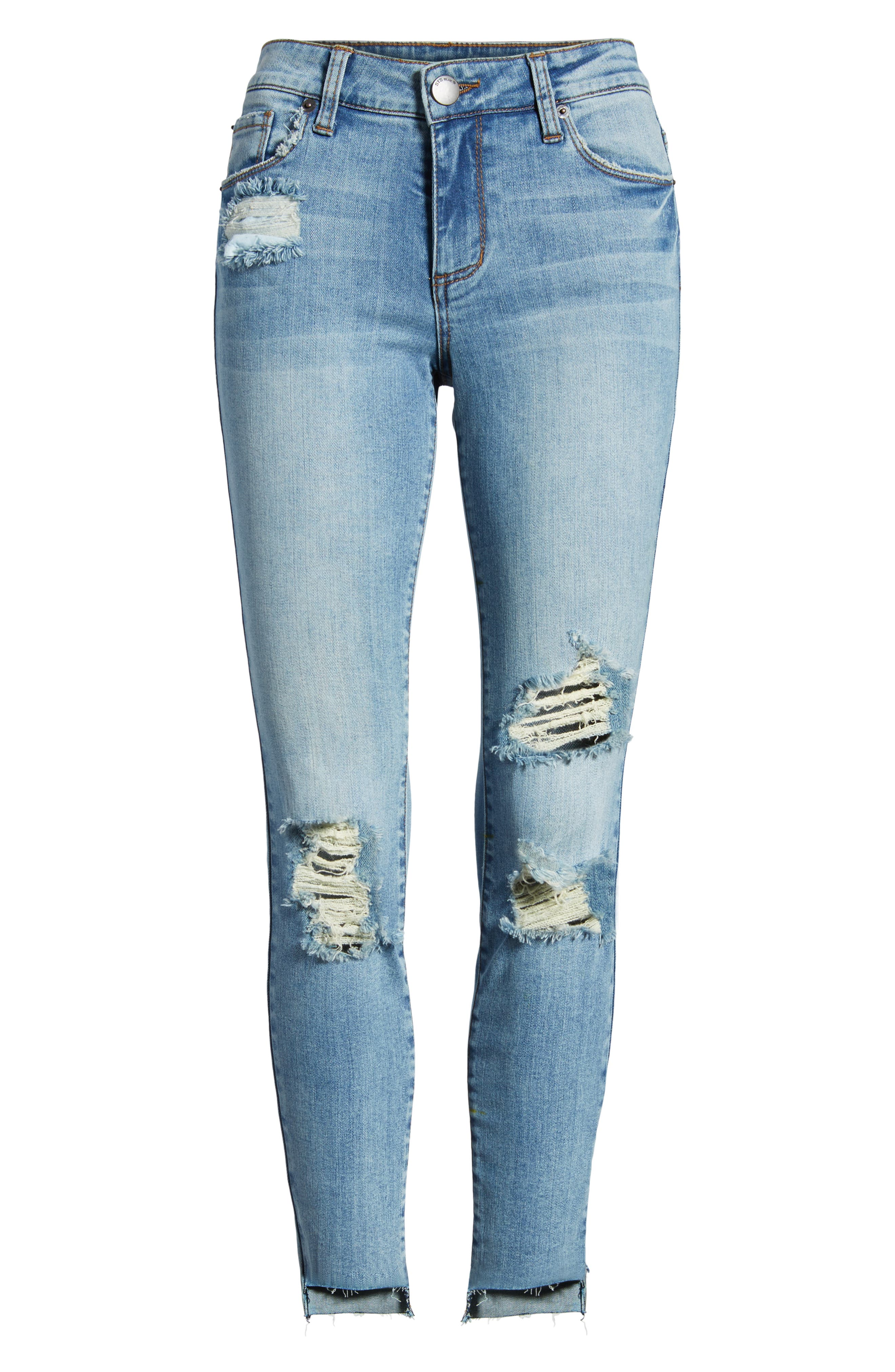STS Blue Emma Ripped Ankle Skinny Jeans,                             Alternate thumbnail 7, color,                             Nortan W/ Lt Base