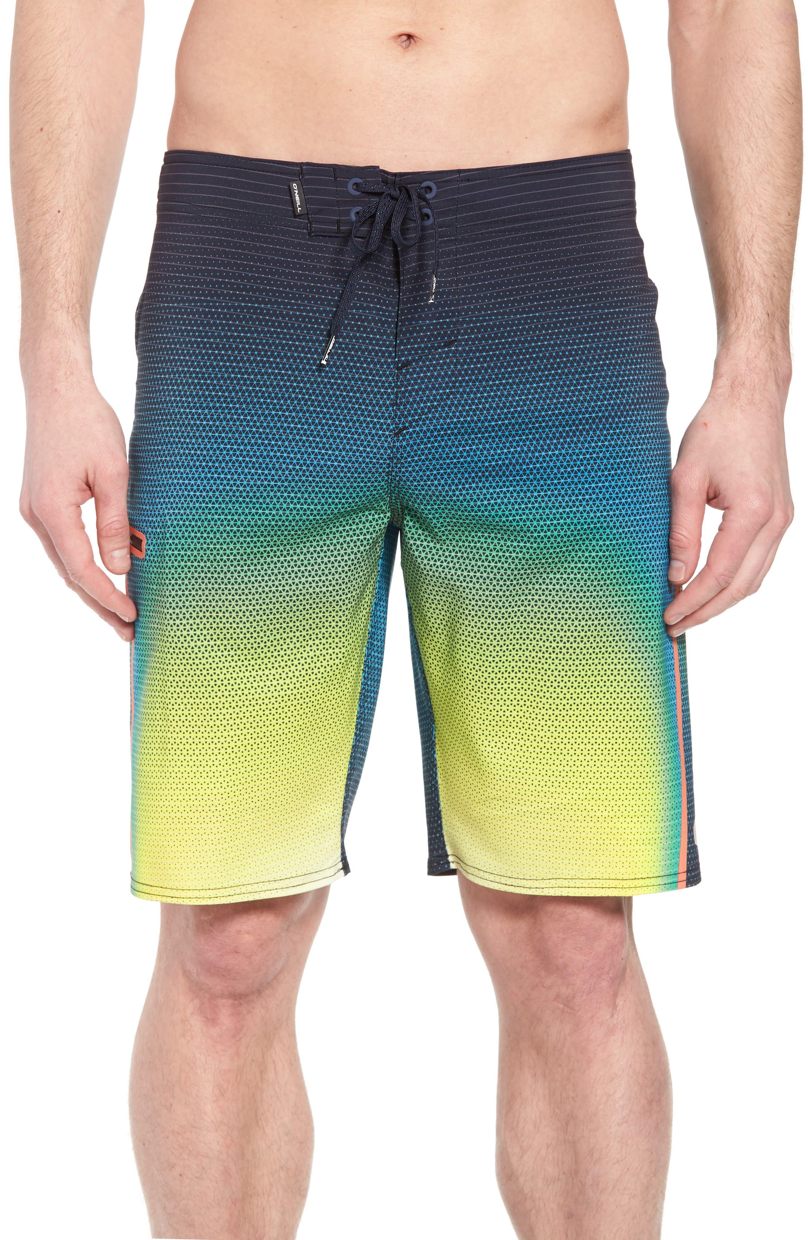 Hyperfreak Prizma Board Shorts,                         Main,                         color, Ocean