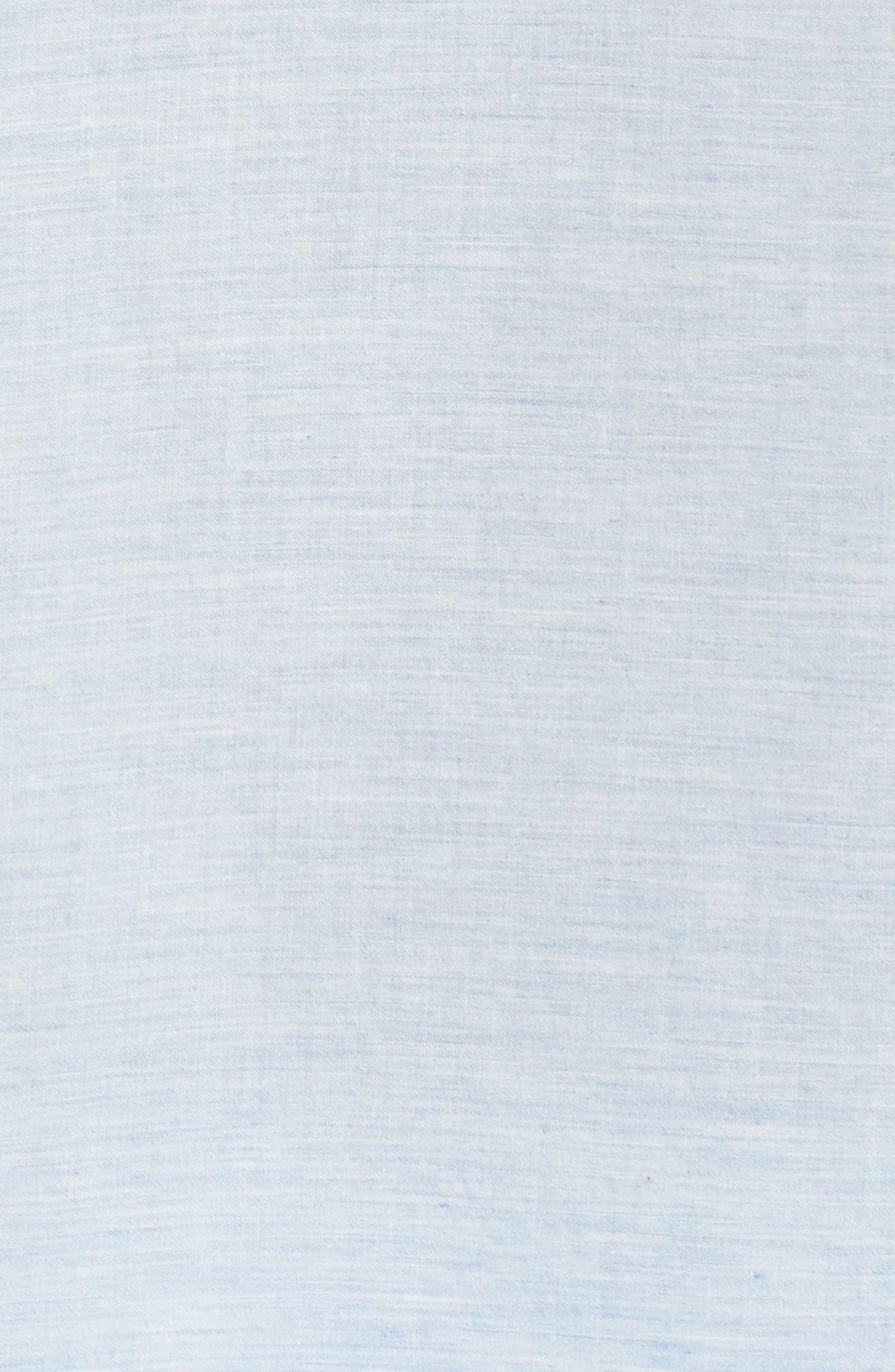 Solana Regular Fit Short Sleeve Sport Shirt,                             Alternate thumbnail 5, color,                             Blue