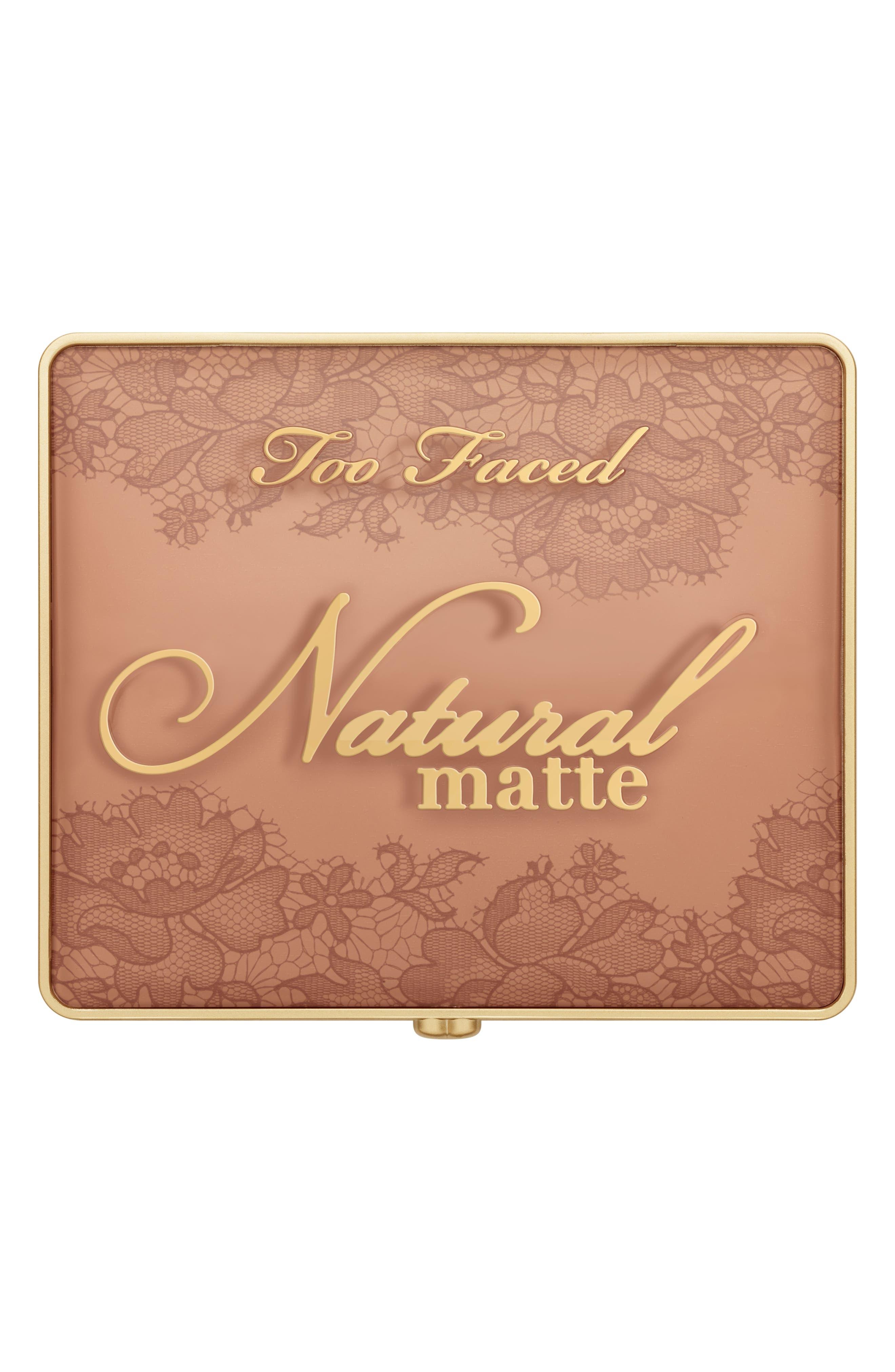 Natural Matte Eyeshadow Palette,                             Alternate thumbnail 9, color,                             No Color